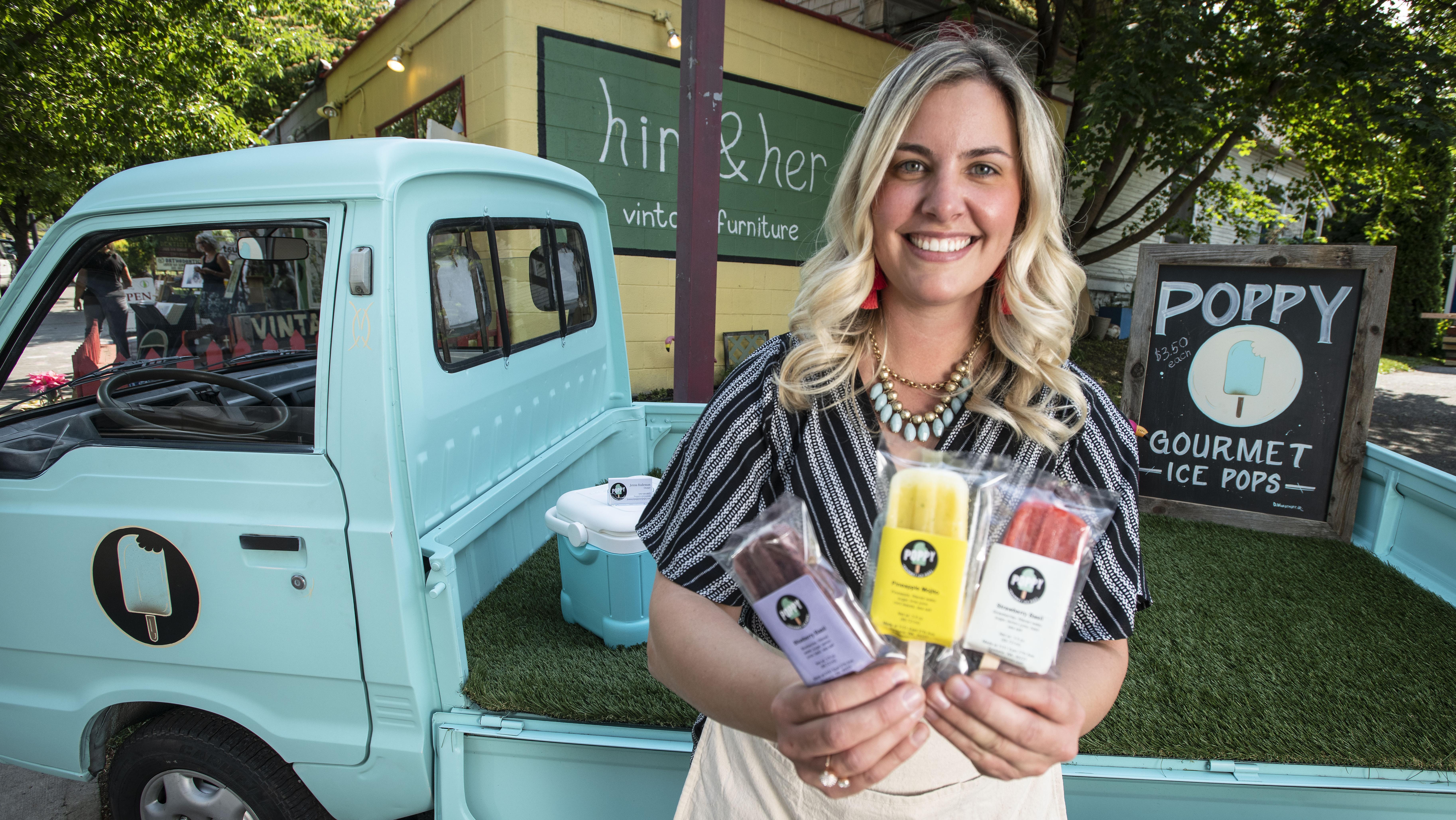 poppy gourmet ice pops debuts makes thursday market debut the
