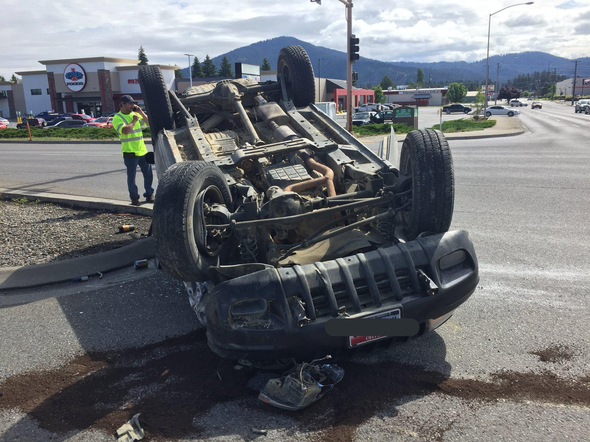A Crash On US Highway 95 Resulted In Injuries And Driver Was Arrested