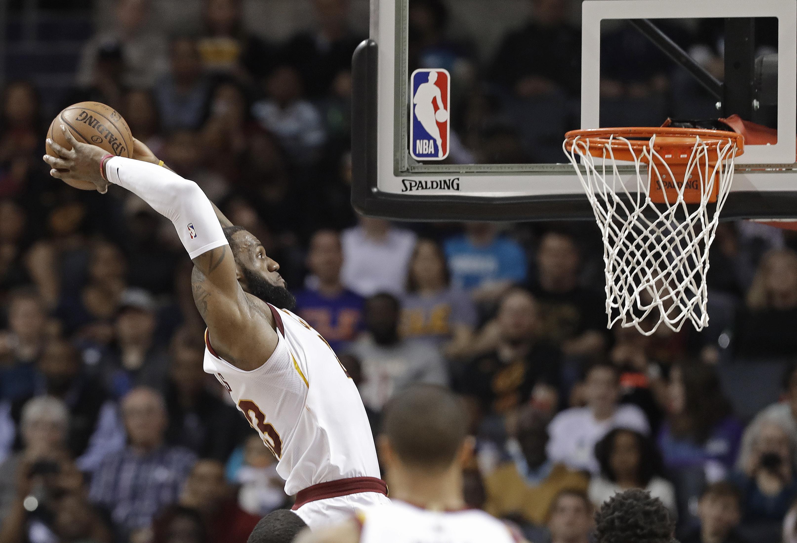 He99 Lebron James Dunk Nba Sports Art Basketball: Sources: LeBron James Declines Option With Cleveland