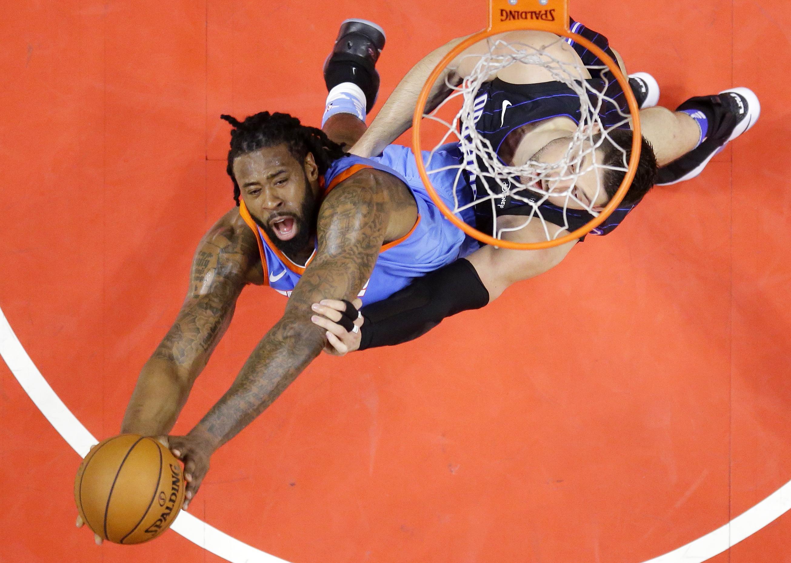 d4fd0ca88 AP source  Dallas Mavericks chasing DeAndre Jordan again 3 years ...
