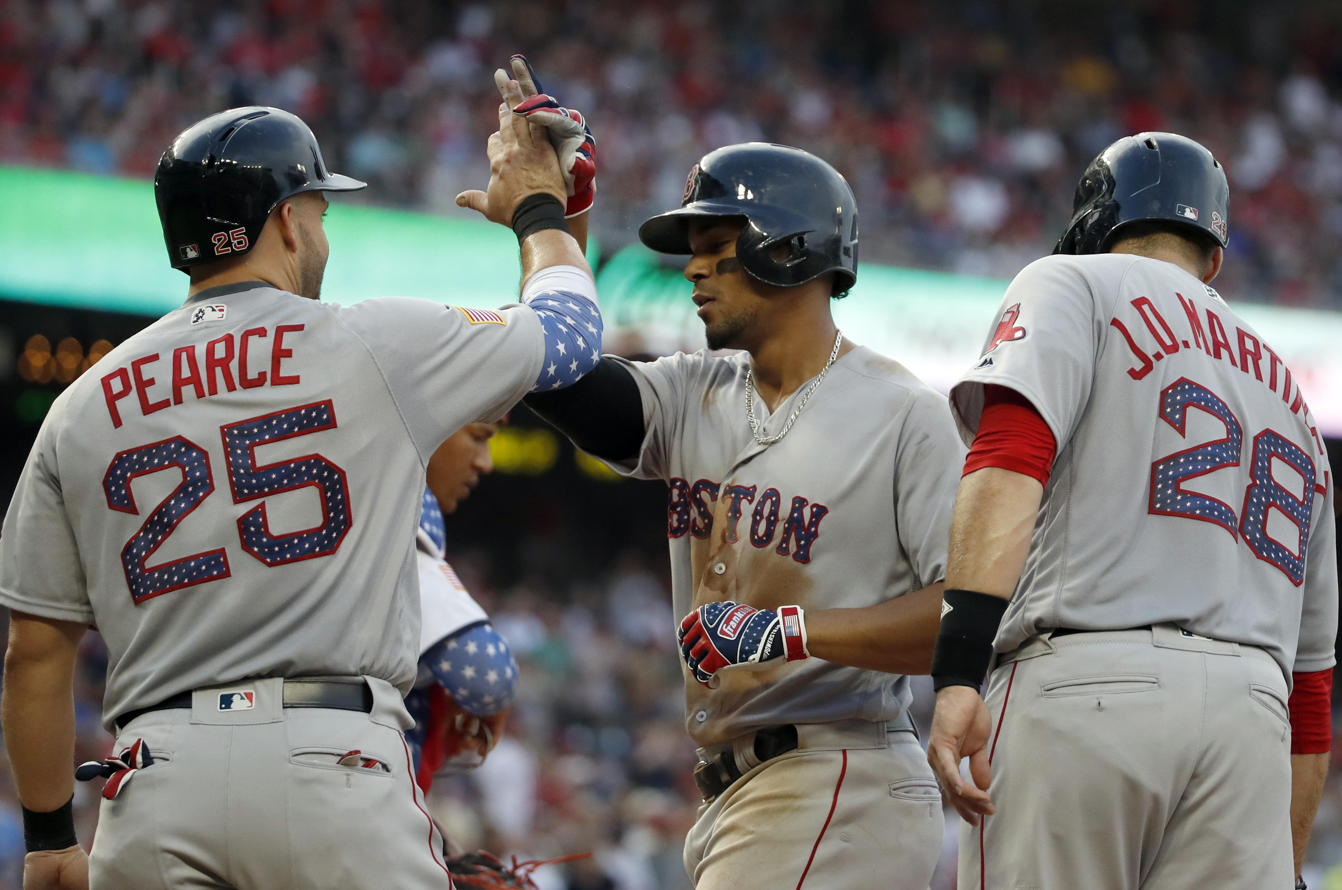 MLB Roundup: Boston Red Sox win 11-4 to drop Nationals to