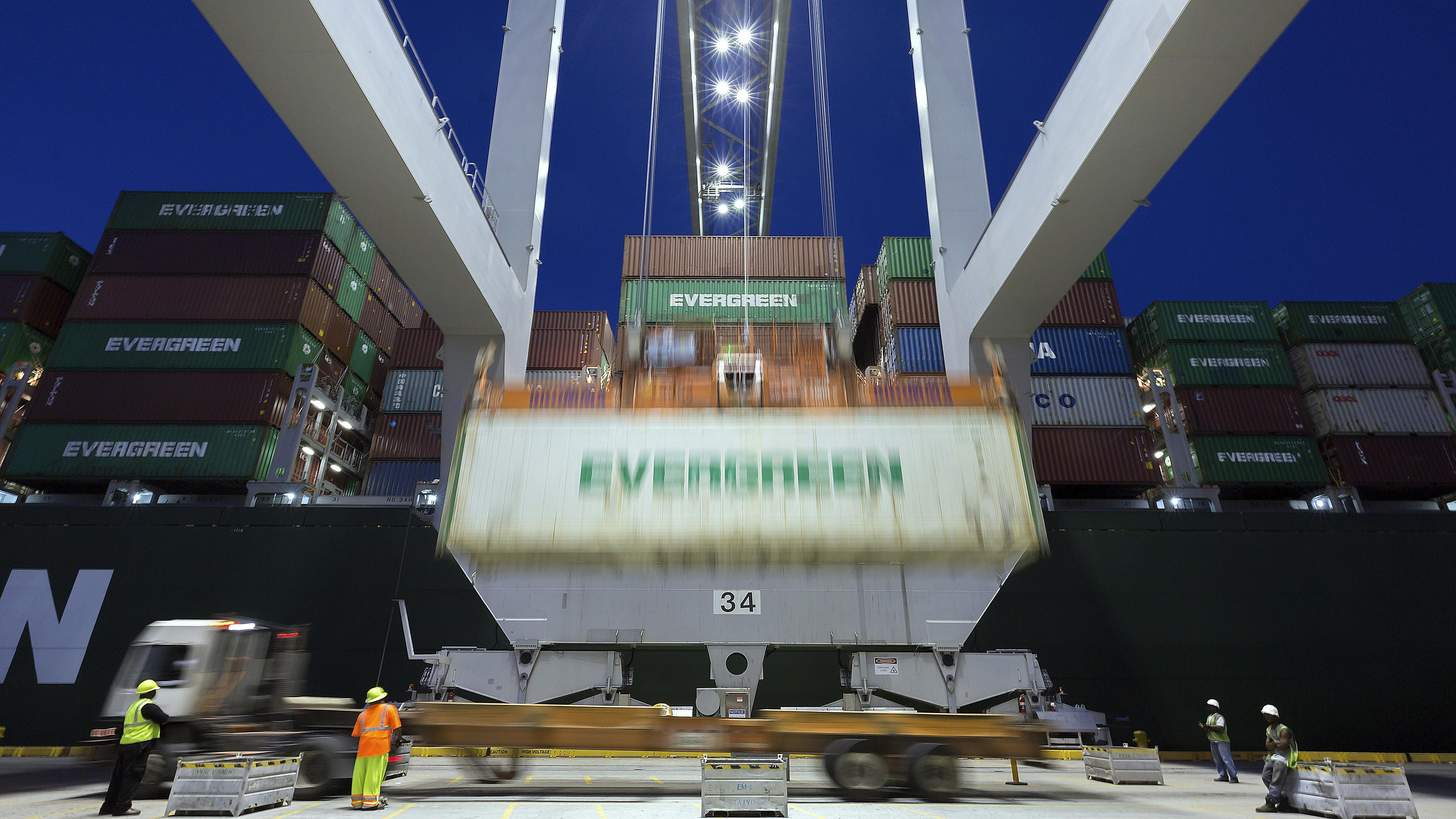 U S  trade deficit drops to $43 1 billion in May | The