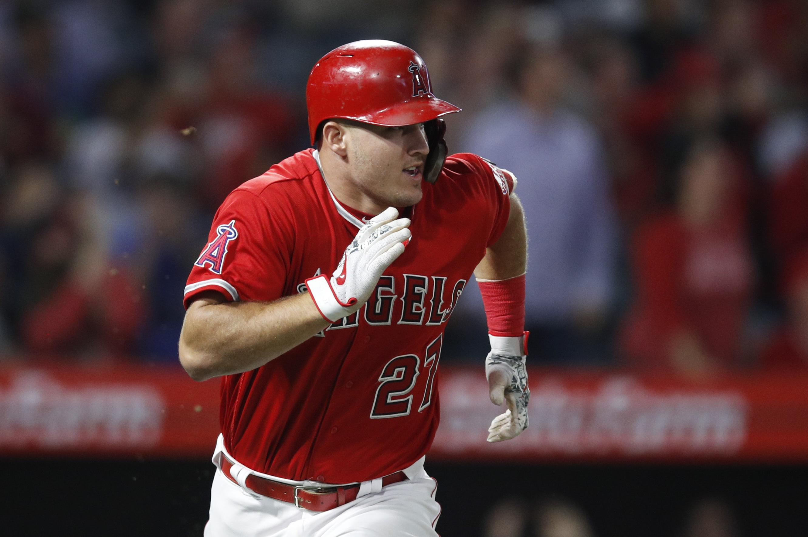 Mike Trout Leads Stellar Al Outfield For All Star Game The