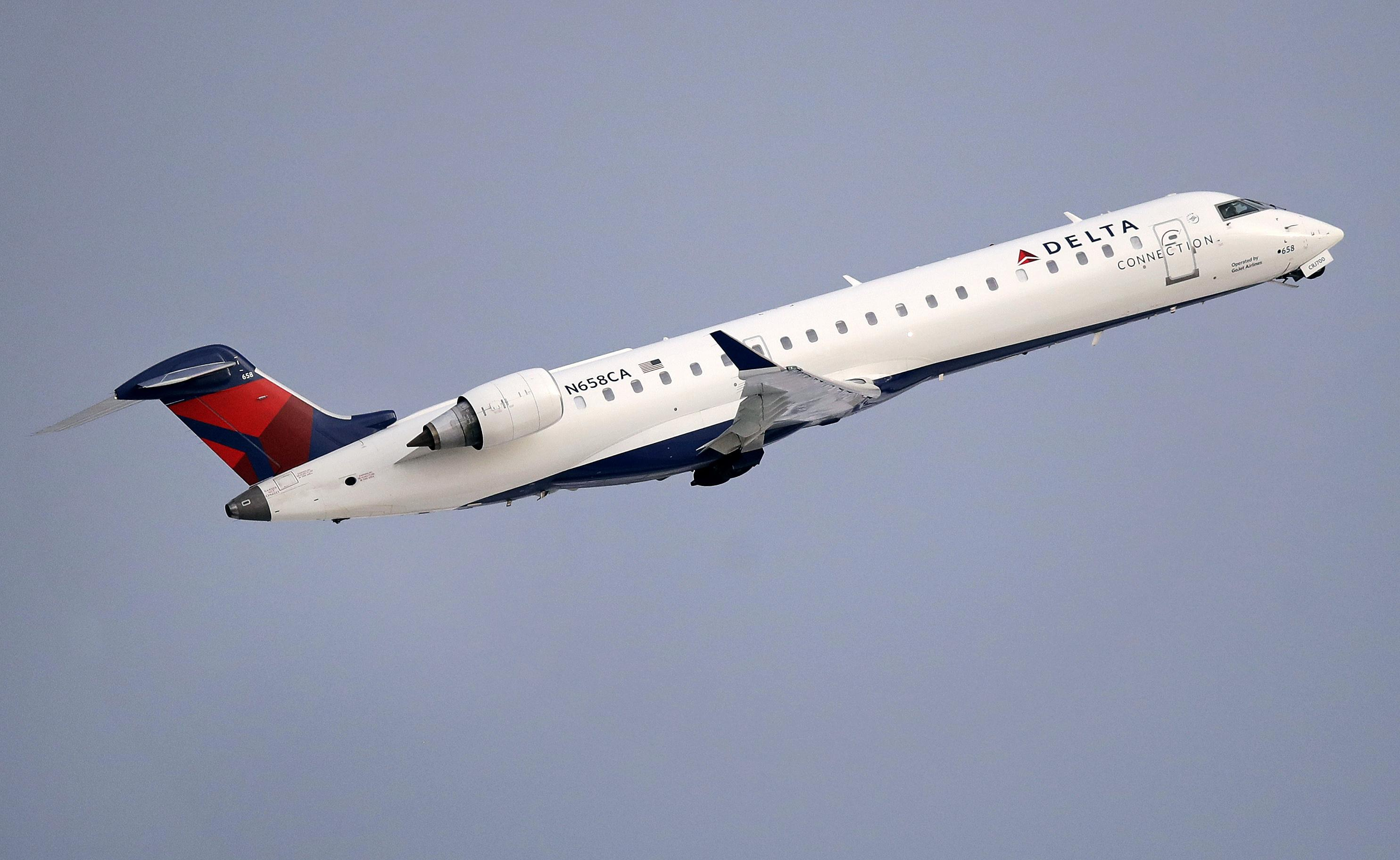 Flights Temporarily Grounded Delayed As Delta Air Lines Experiences