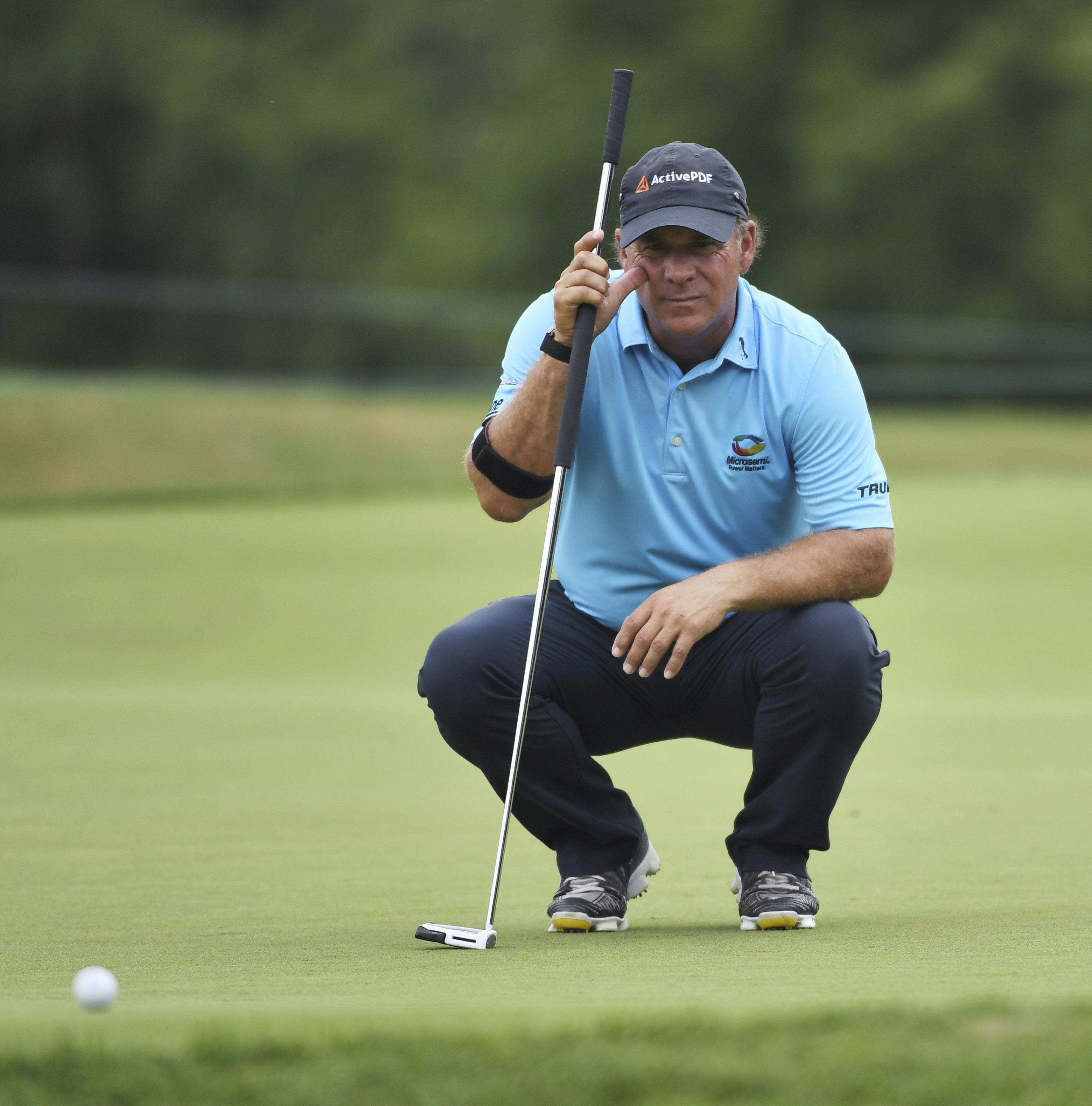 Scott McCarron, Jeff Maggert, Bart Bryant tied for lead at Senior ...