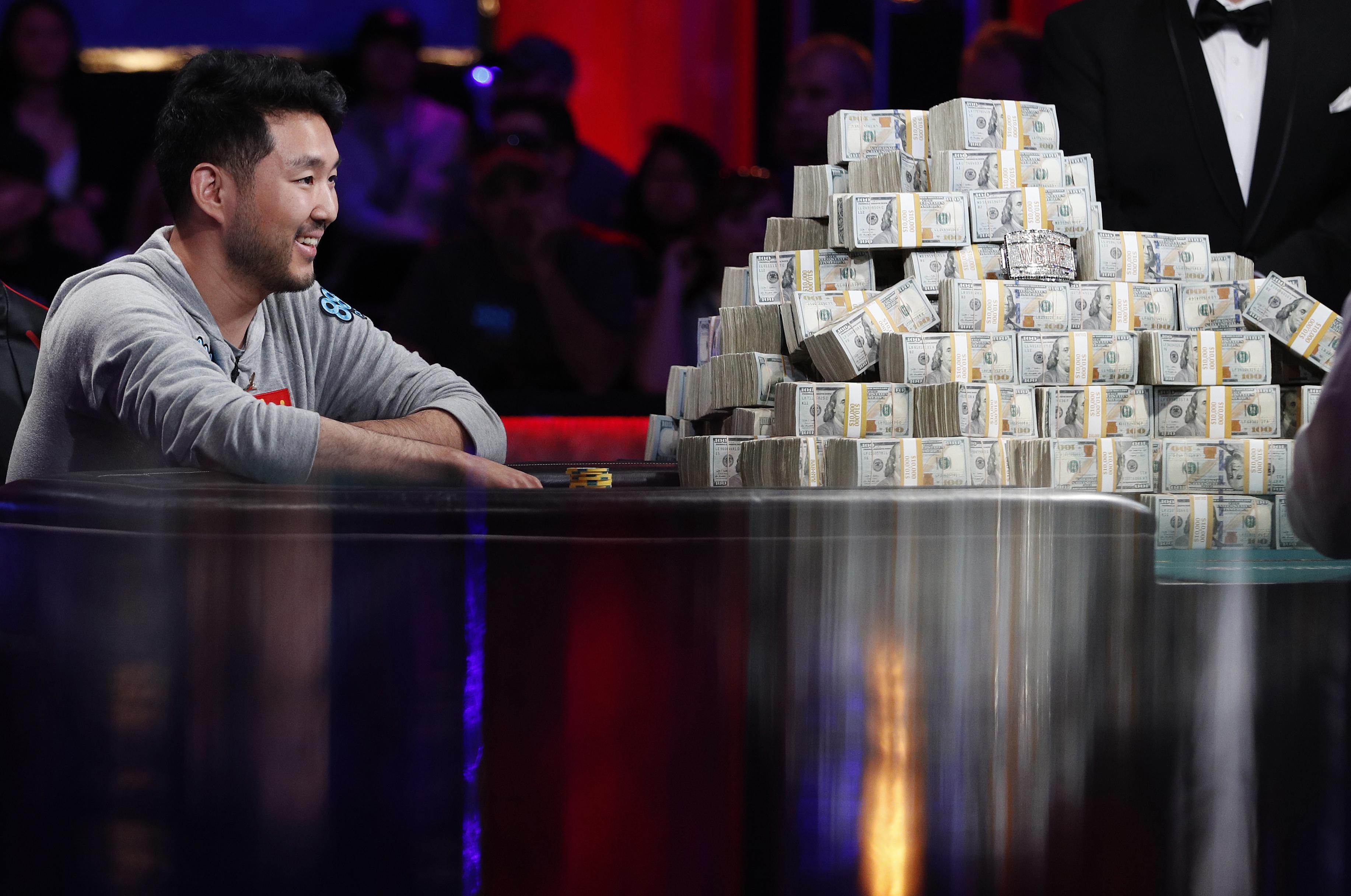 John cynn claims world series of poker title wins 8 8m the spokesman review - Final table world series of poker ...