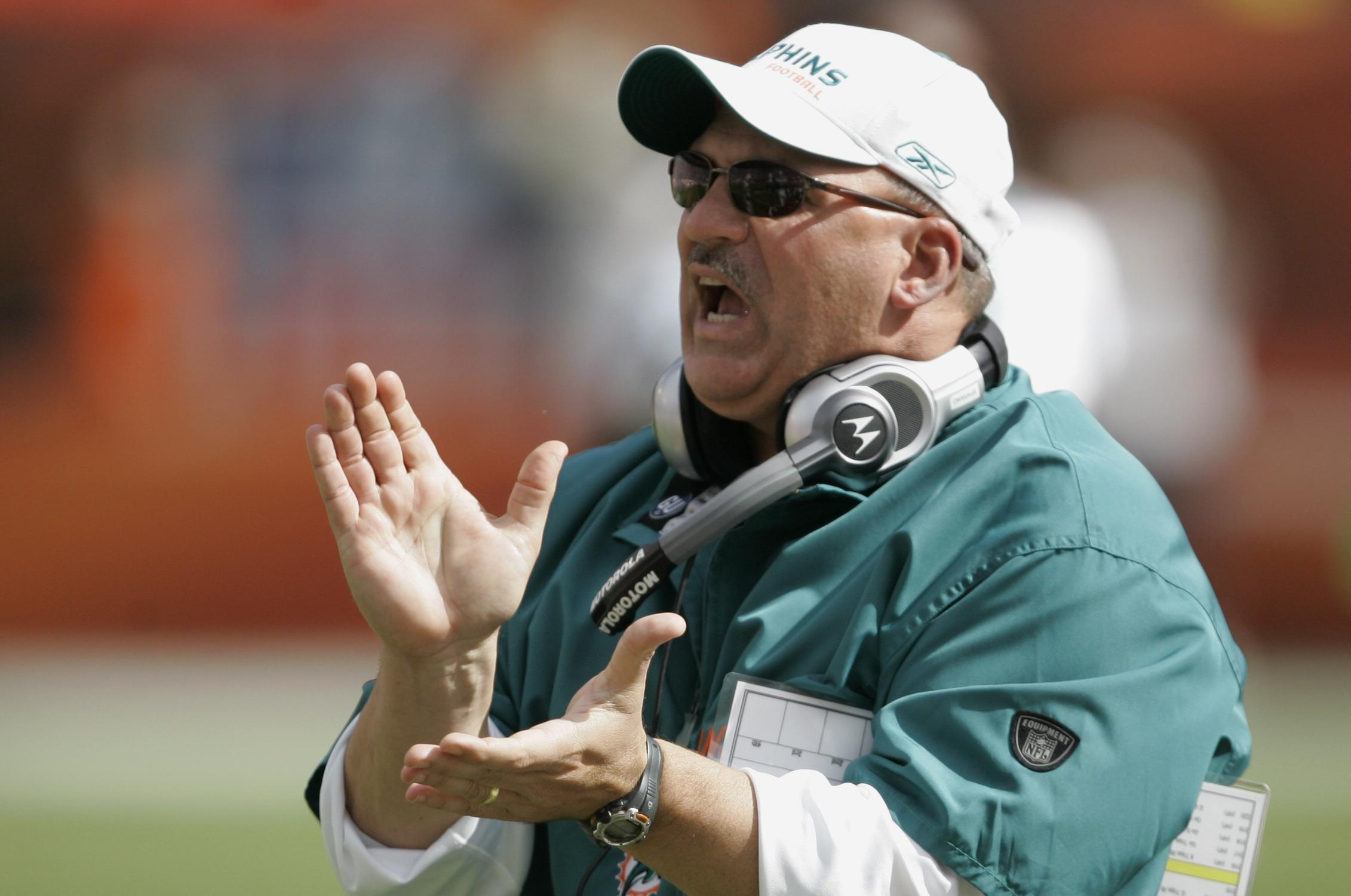 Former Miami Dolphins Head Coach Tony Sparano Died On Sunday He Had Been Working As