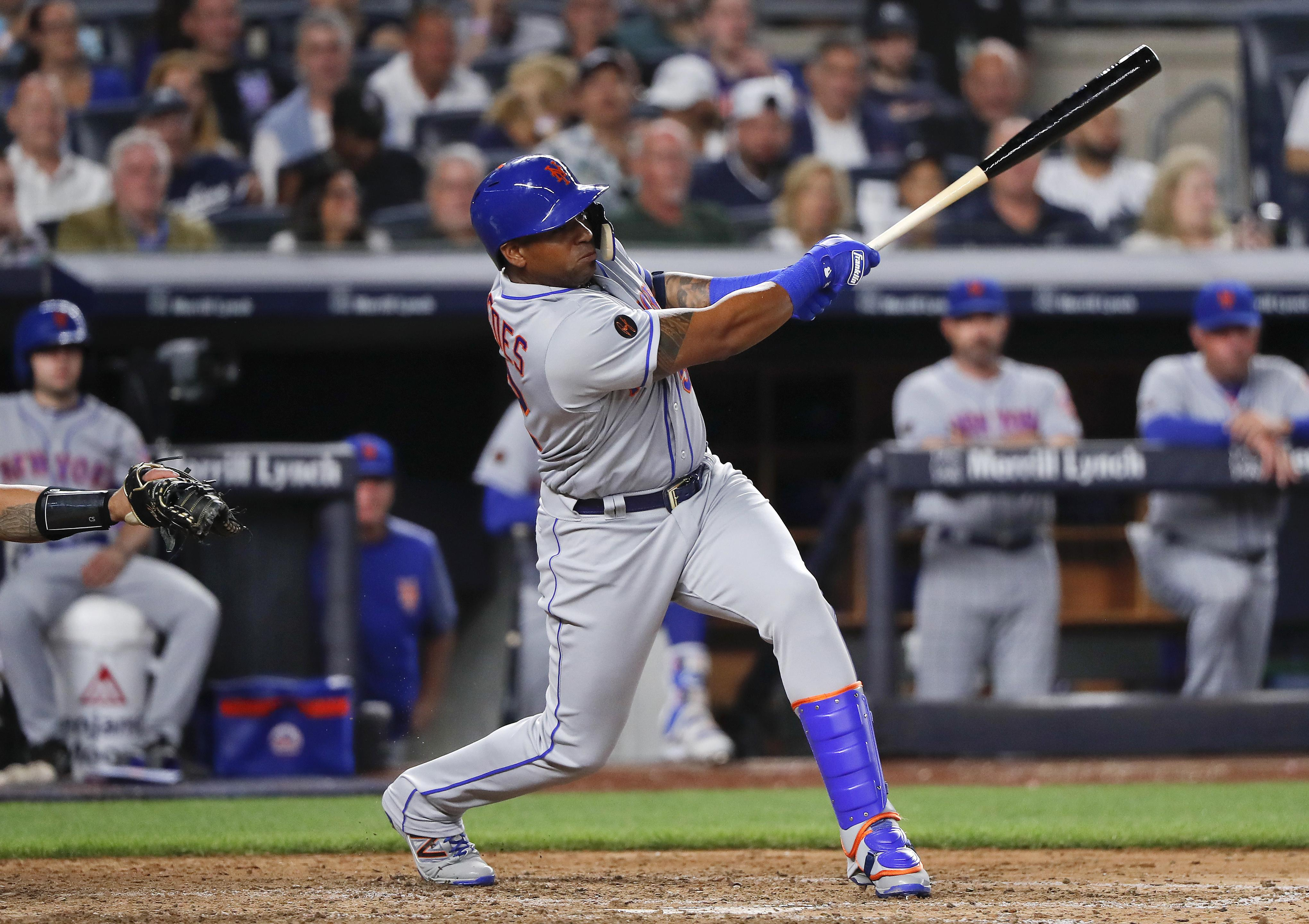 100% authentic e63d5 df07a Mets' Yoenis Cespedes may need surgery on both feet | The ...