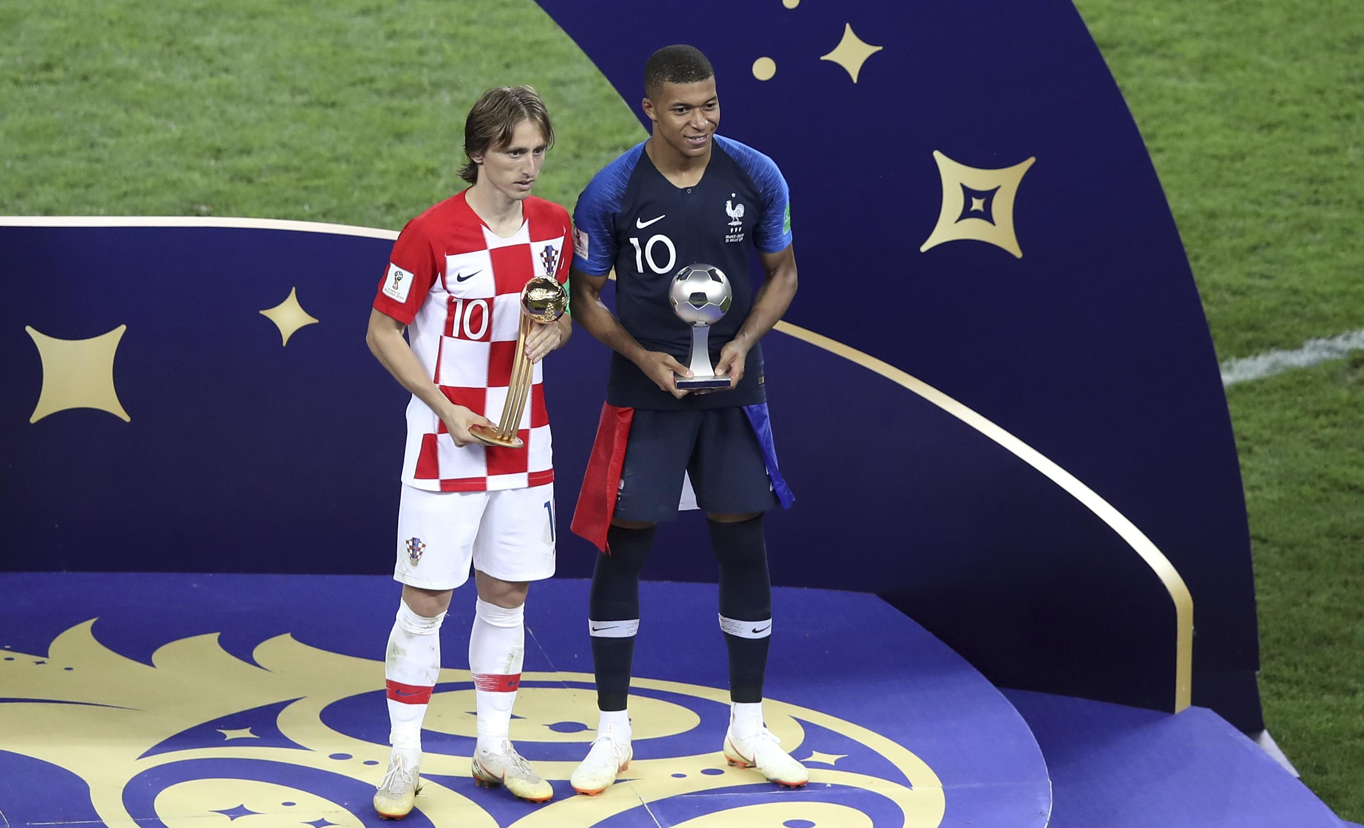 promo code e5e7a 86625 Kylian Mbappe, Luka Modric on 10-man list for FIFA best ...