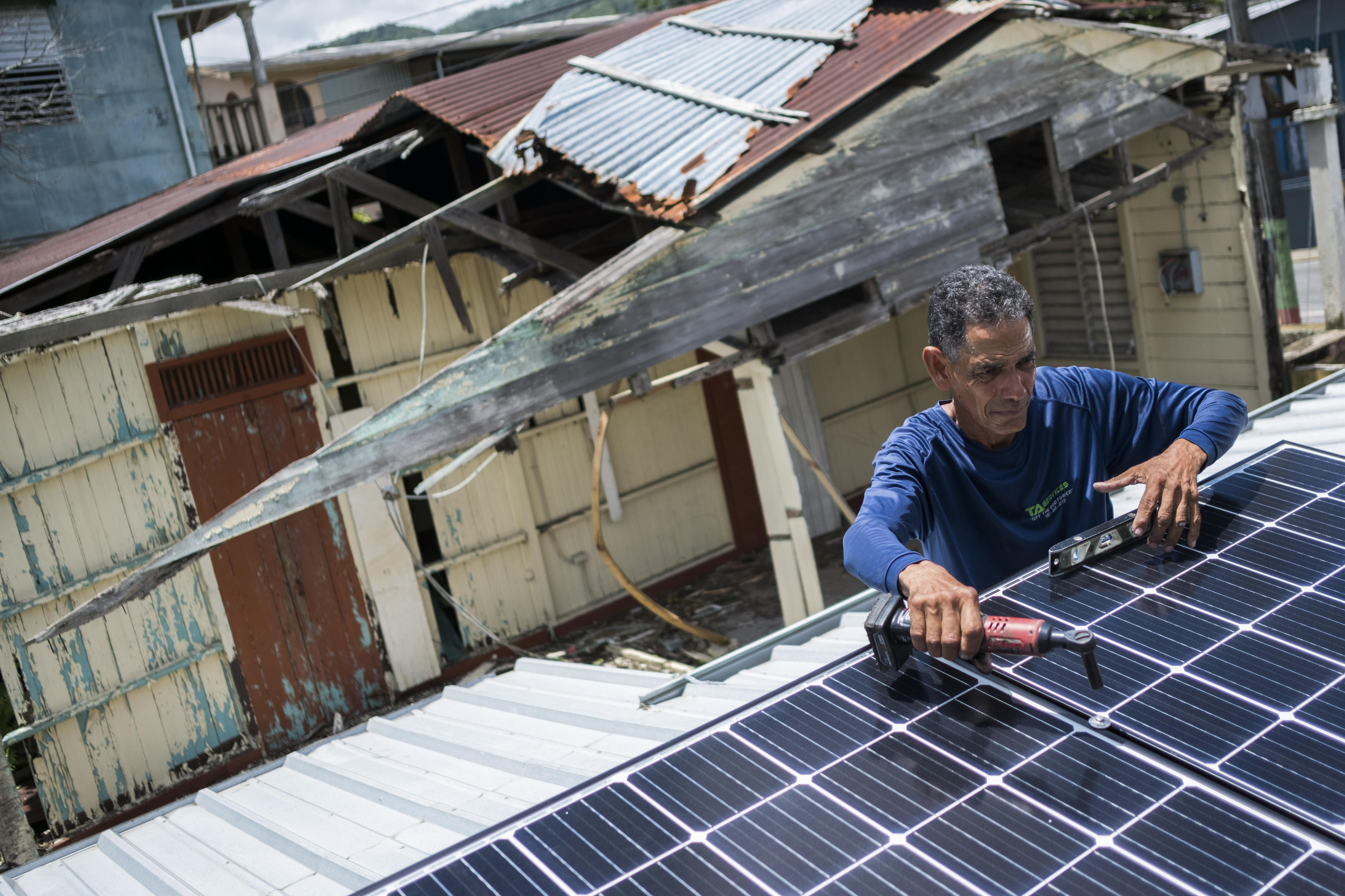 Tesla Others Help Puerto Ricans Go Solar Amid Power