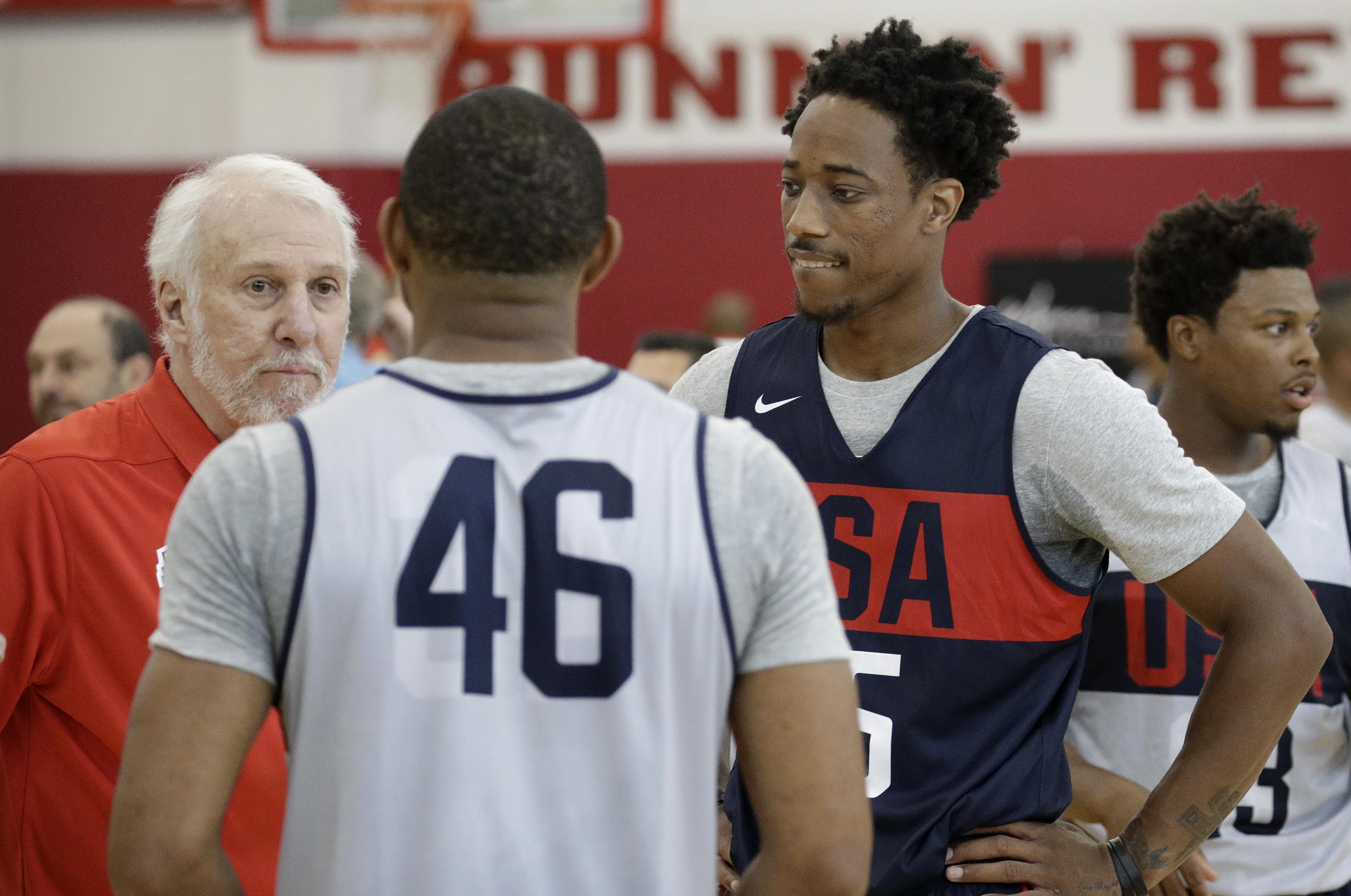 uk availability f76b5 58622 USA Basketball: DeMar DeRozan eager to work with Gregg ...