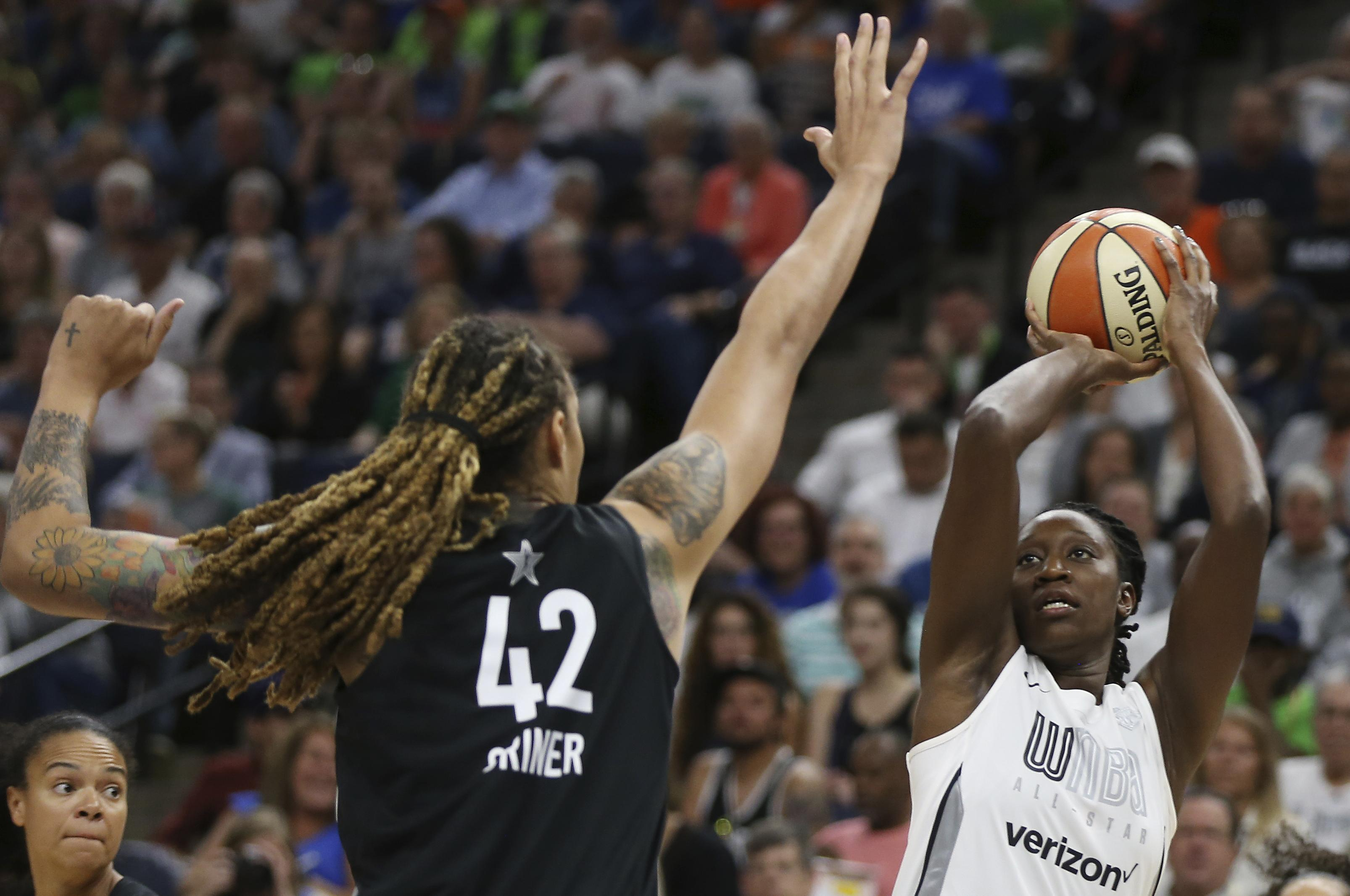 Maya Moore wins third MVP award in WNBA All-Star Game | The