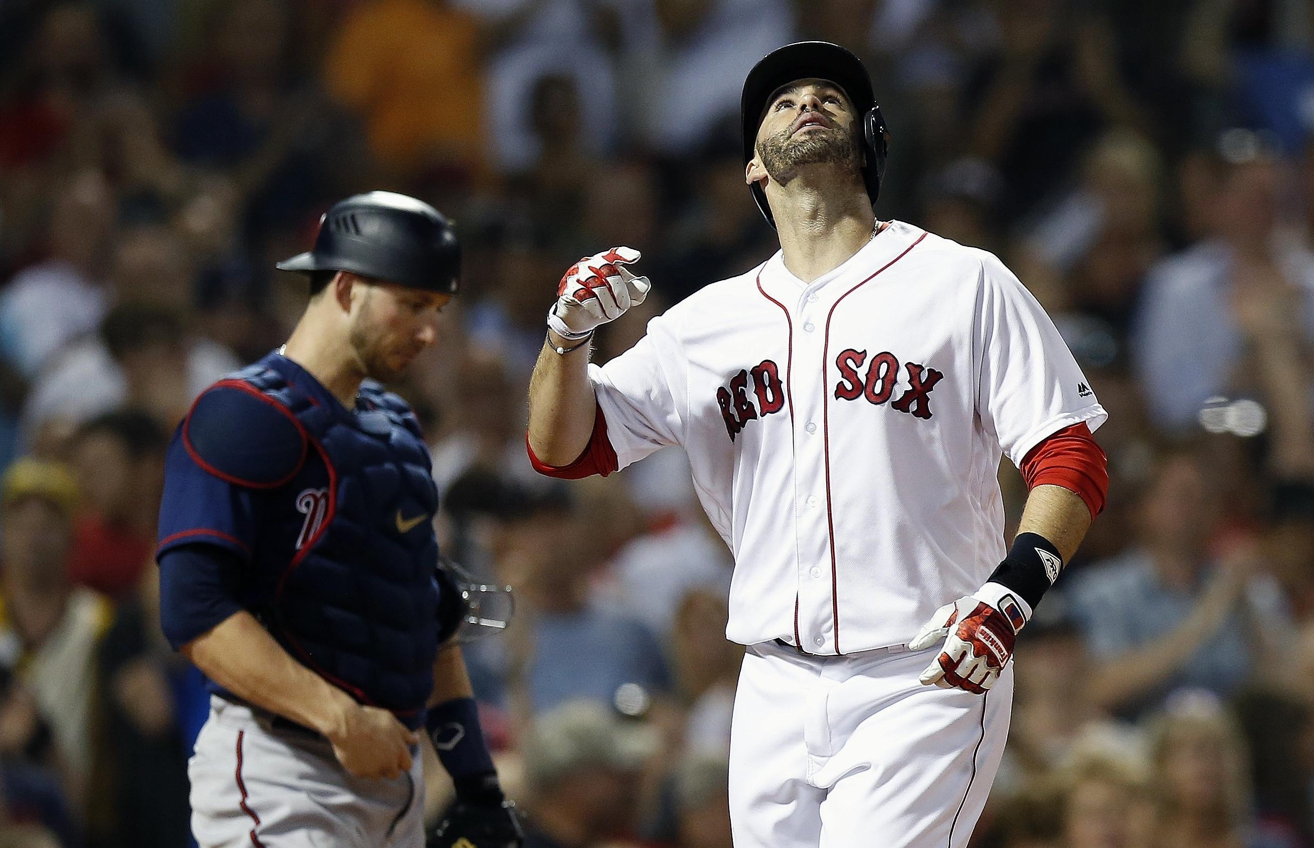 2a7b33092 MLB roundup  J.D. Martinez hit his major league-leading 32nd homer ...