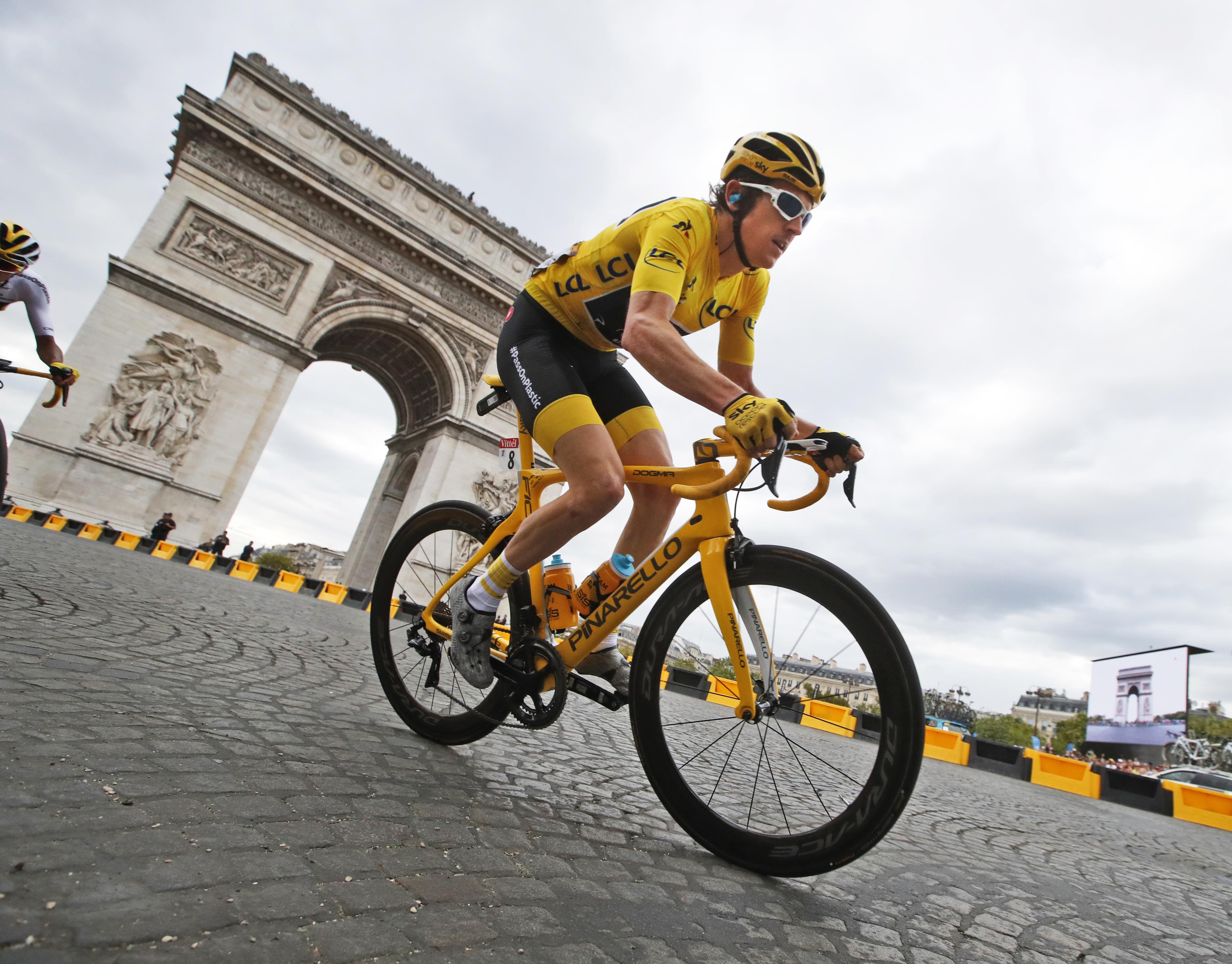 Tour de France winner Britain s Geraint Thomas f48087c46