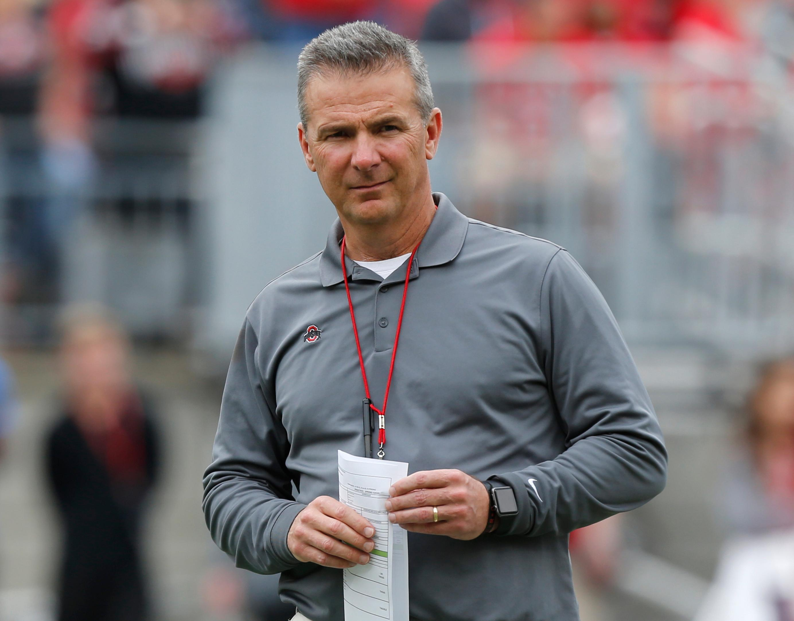 Ohio State S Urban Meyer Put On Leave Investigation Opened The