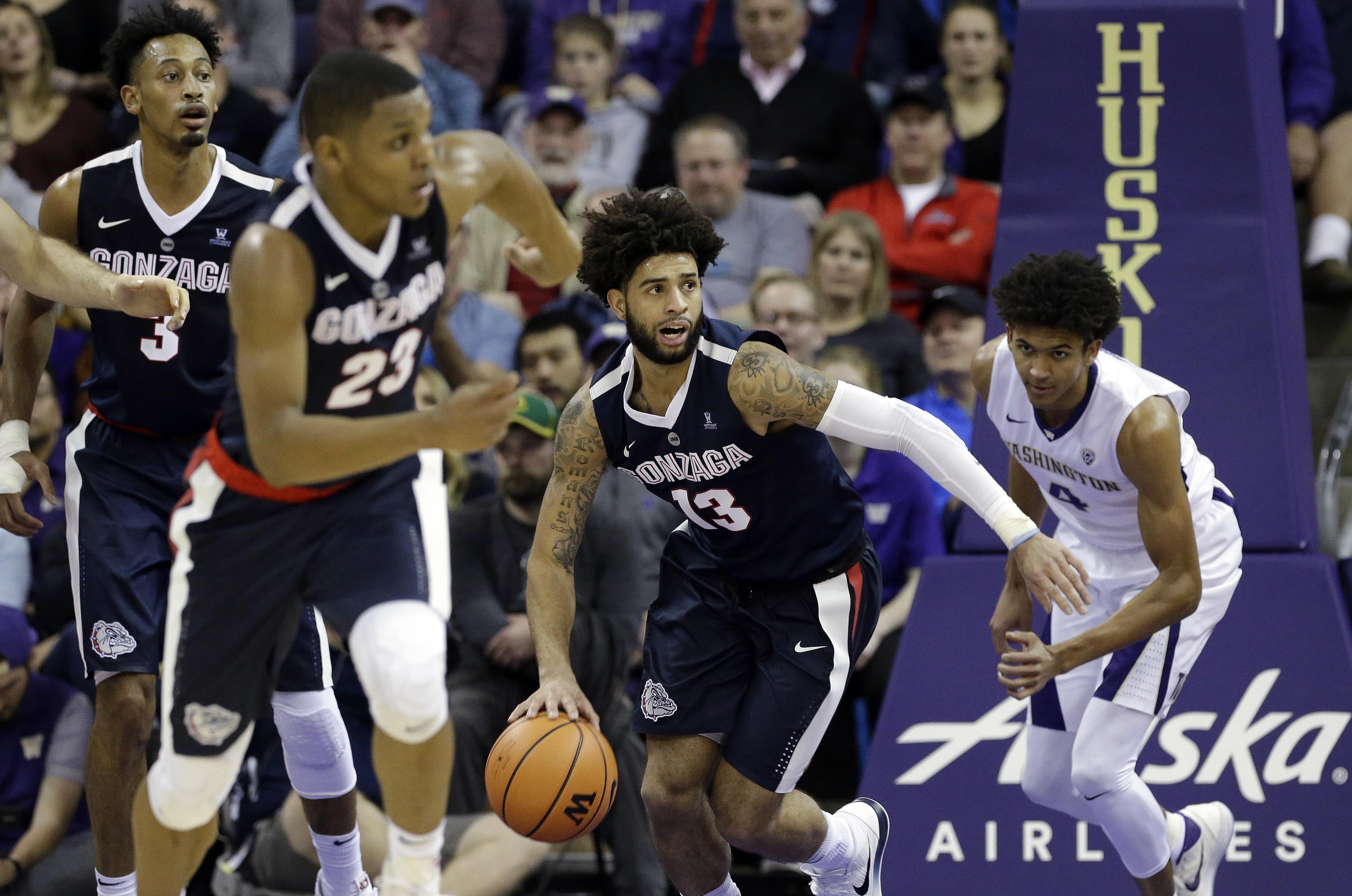 gonzaga adds idaho state, ut arlington to men's basketball schedule
