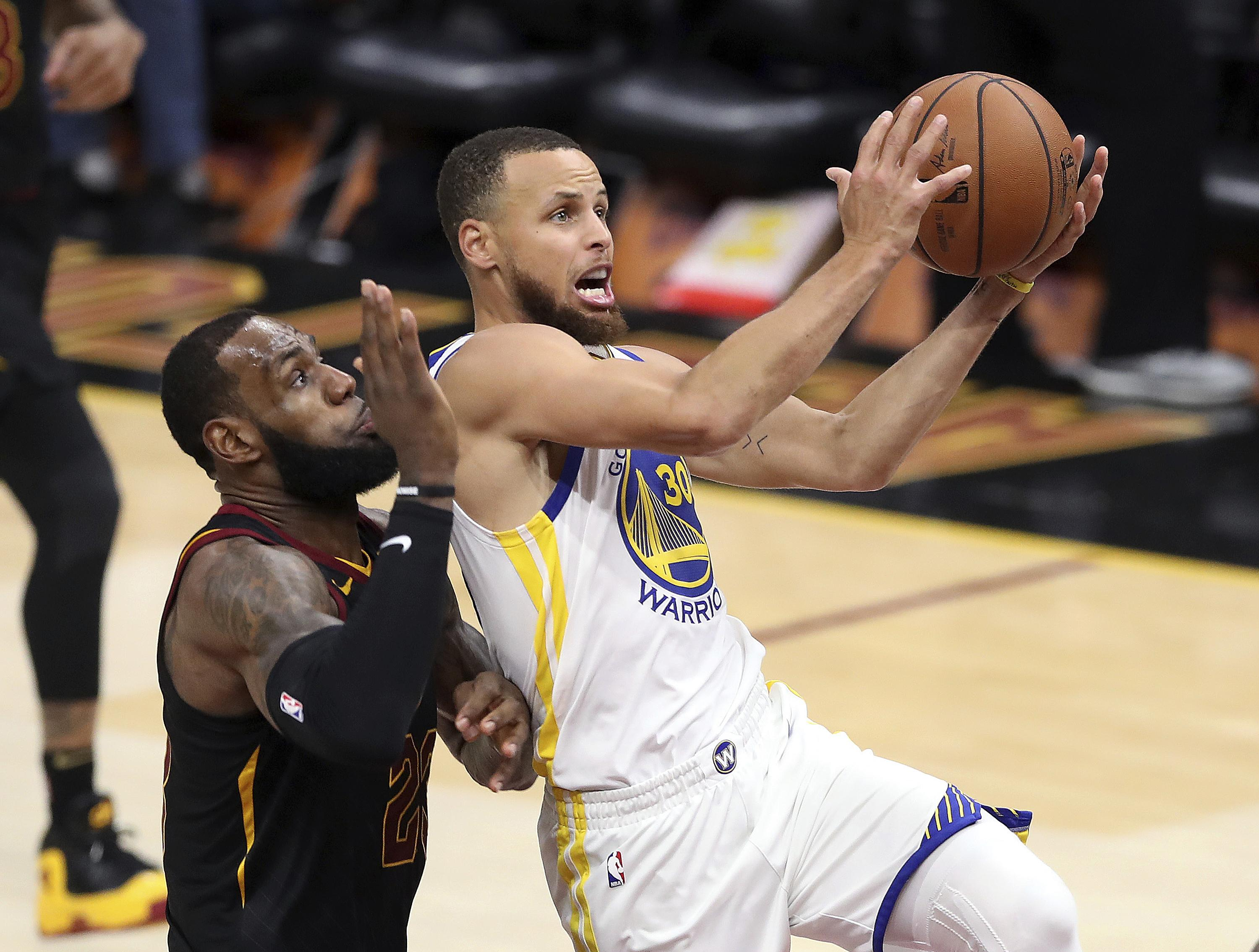 lebron james, warriors, rockets, celtics highlight nba tv schedule