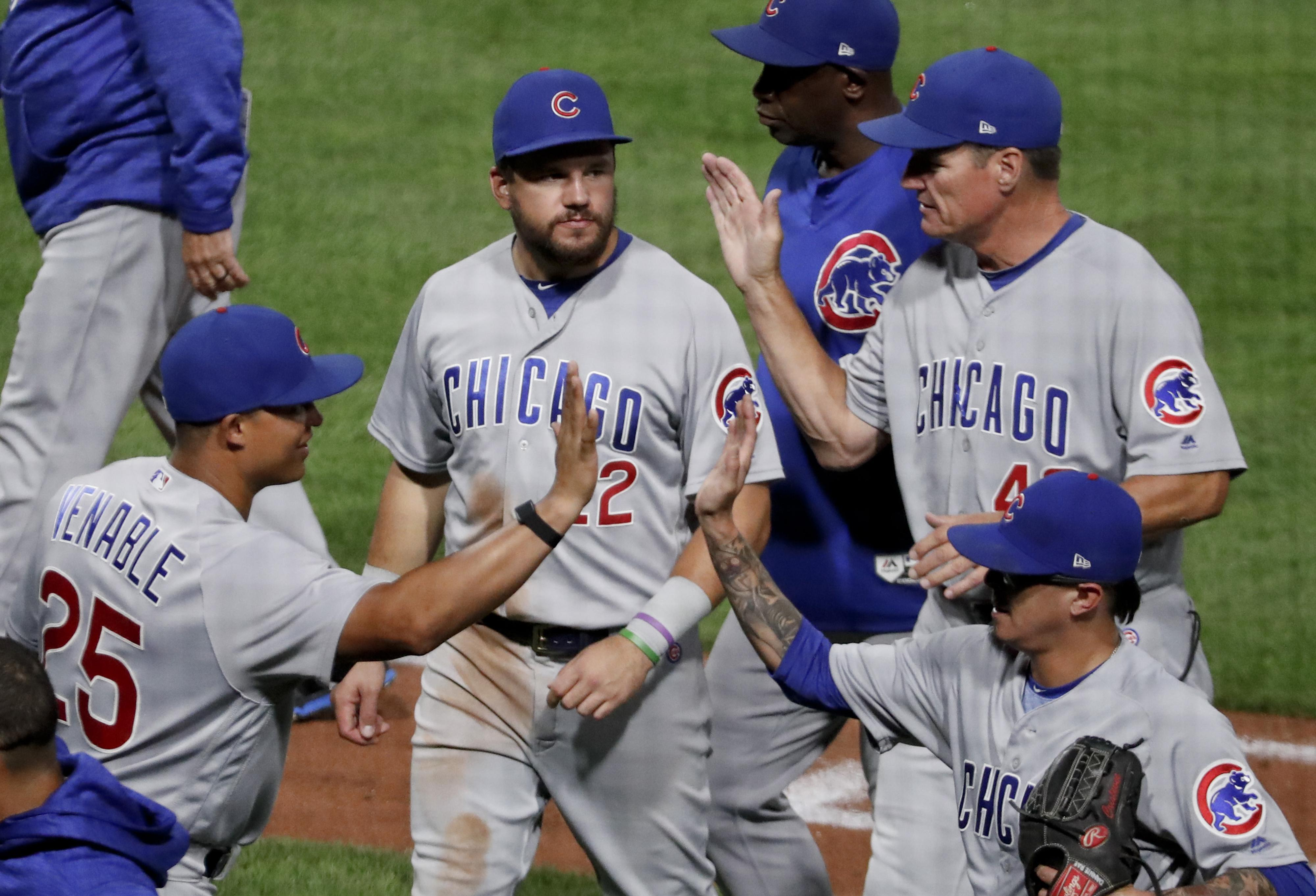 0c2a9d4847c MLB roundup  Cubs turn record-tying 7 double plays
