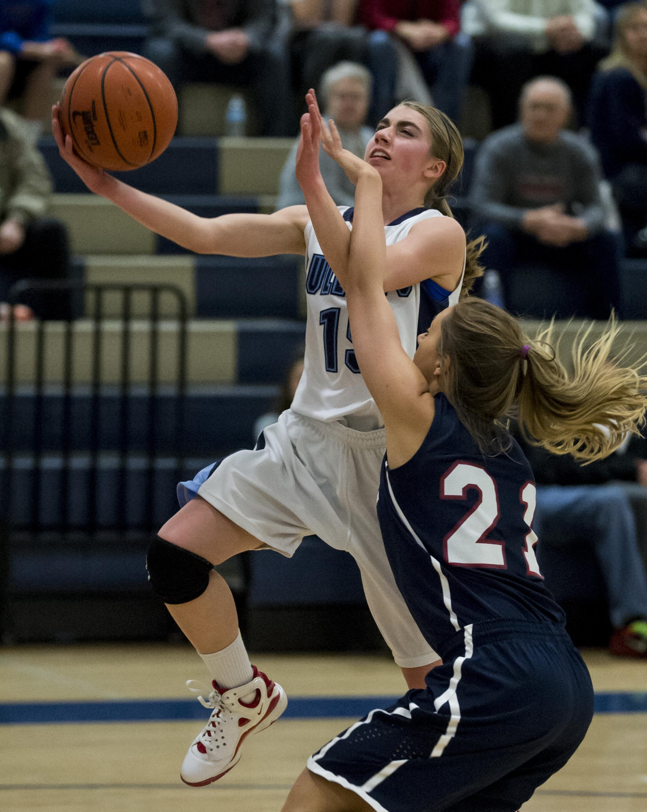 Kayla Leland was a multisport standout at Gonzaga Prep. (Colin Mulvany /  The Spokesman