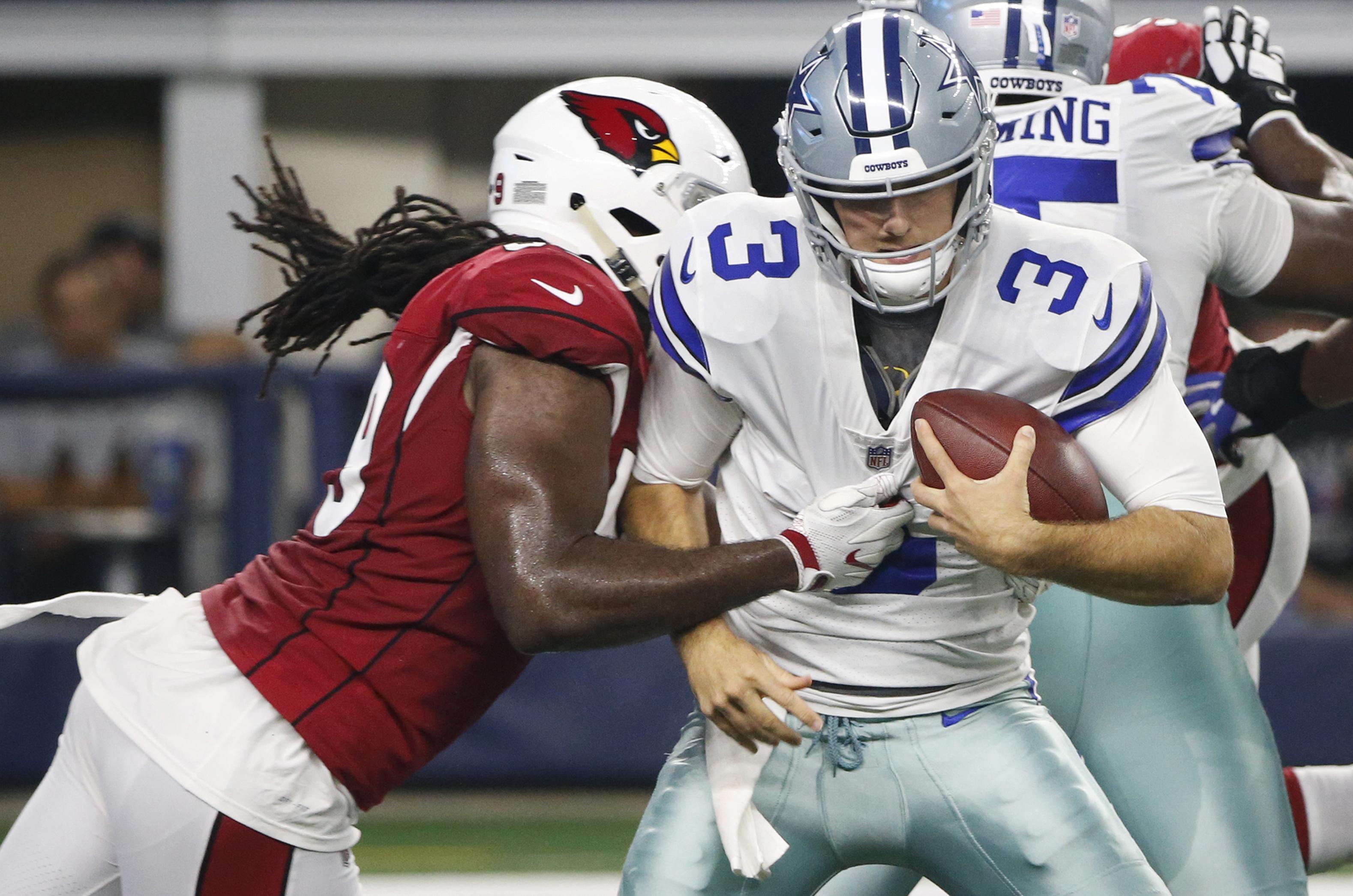 watch bc00b 4d13c Arizona Cardinals take 27-3 preseason win as Cowboys stars ...