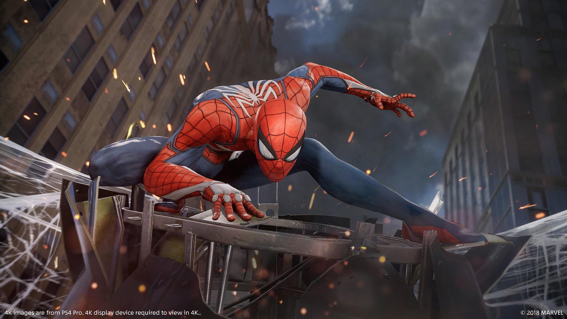 video game review: ps4 exclusive 'spider-man' shines as new head of