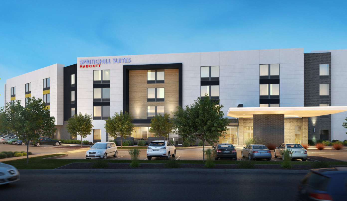 Springhill Suites Hotel Planned Near Spokane Airport The