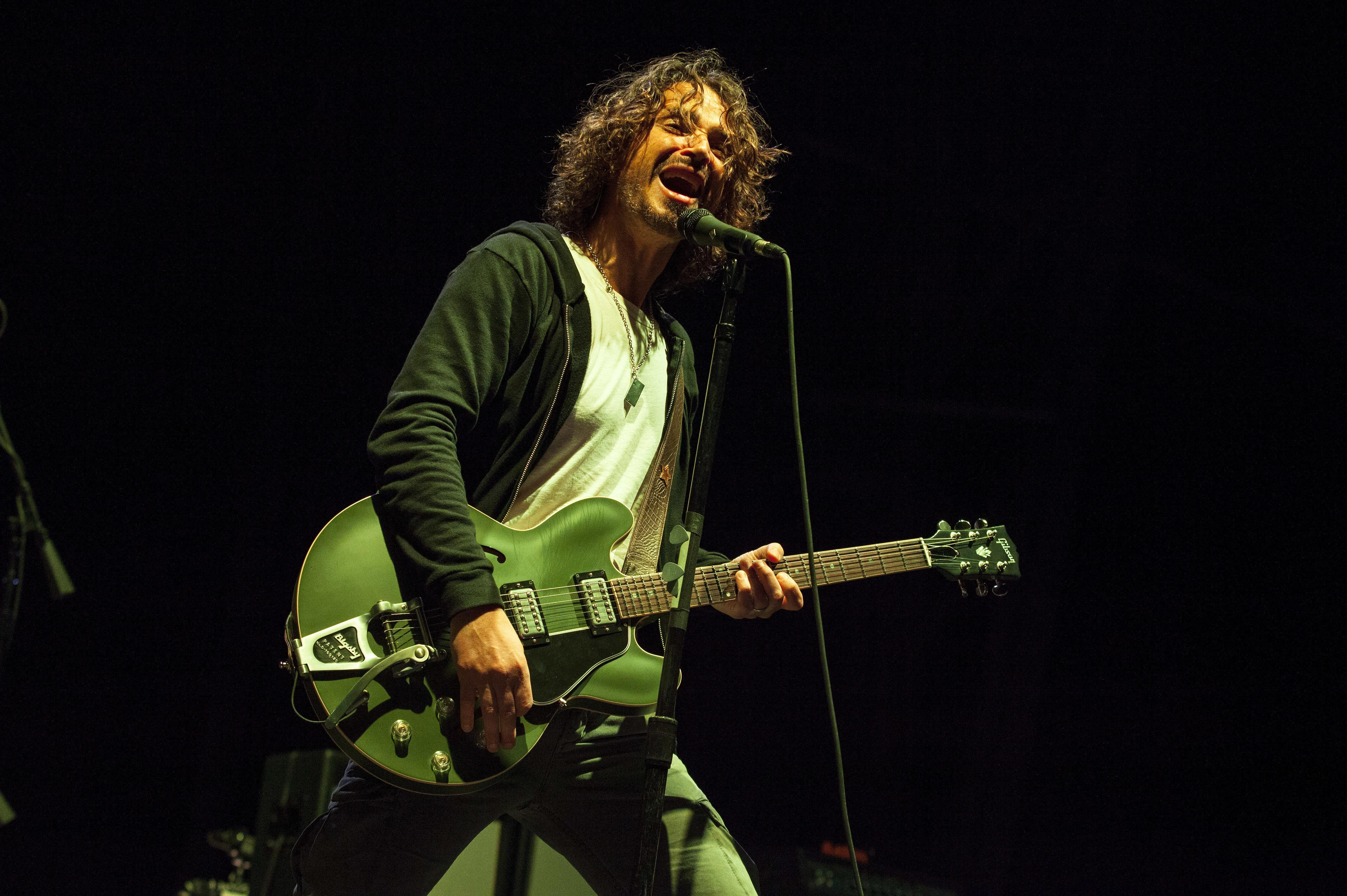 Unreleased Chris Cornell songs will be released in November
