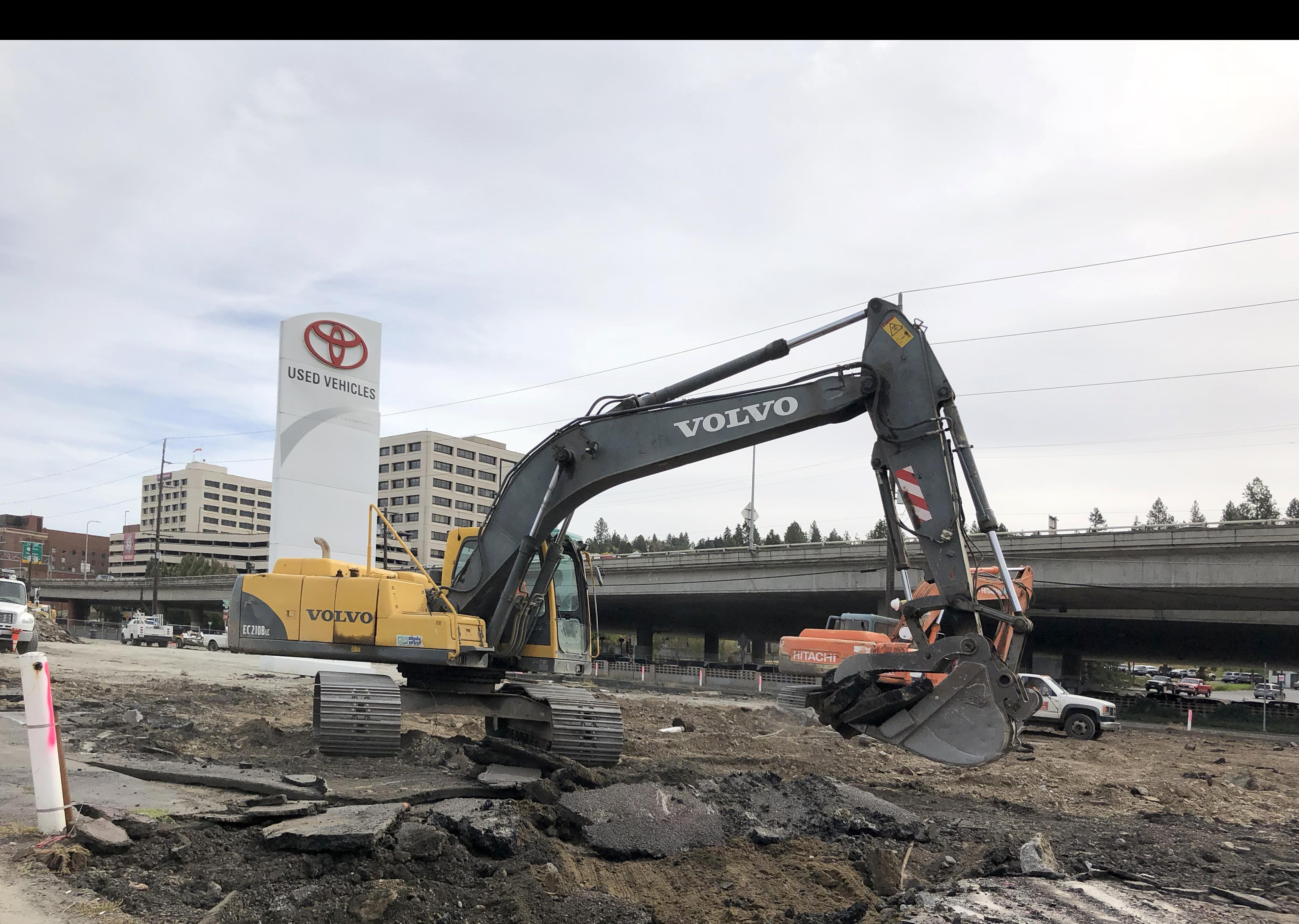 Larry H Miller Toyota Spokane >> Buildings Demolition Clears Way For Larry H Miller