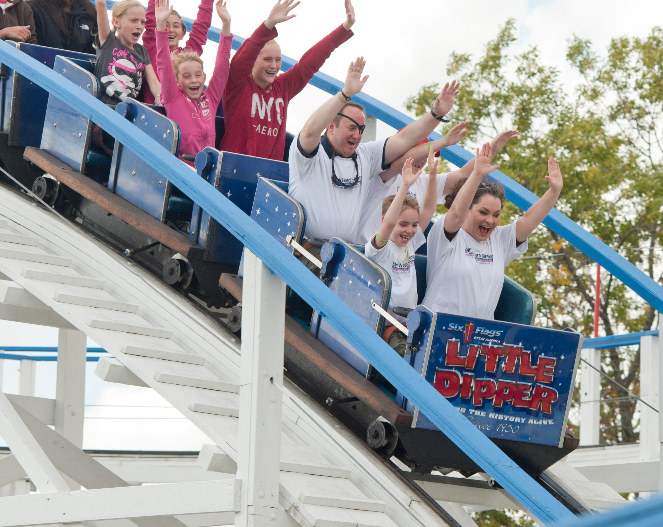 six flags st louis offers perks for customer coffin time the