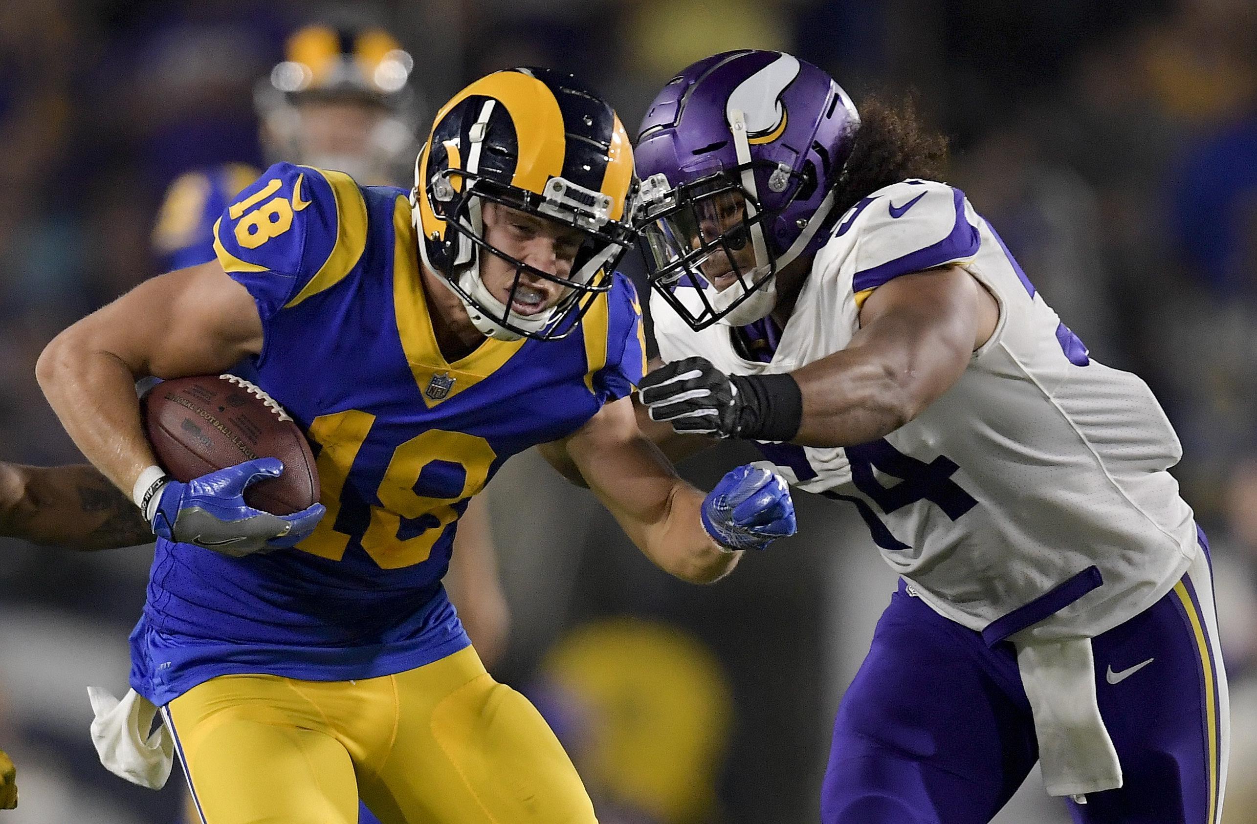 innovative design 589e7 d6daf Cooper Kupp, Jared Goff propel Rams past Vikings, 38-31 ...