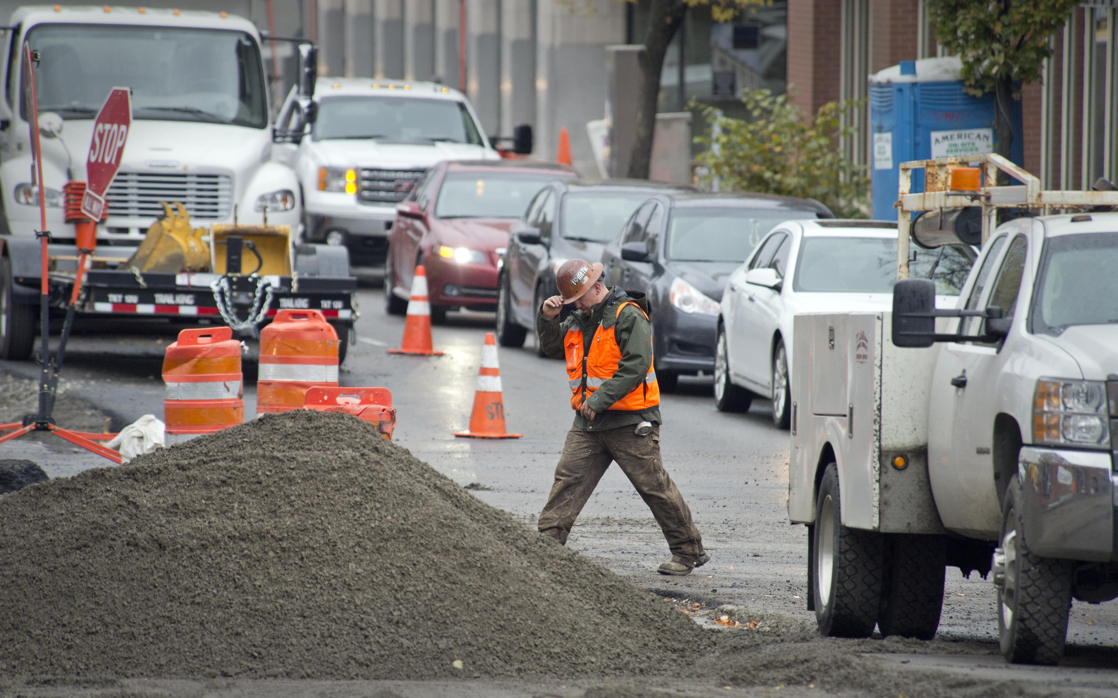 Electrical work prompts two-month narrowing of Monroe Street ...