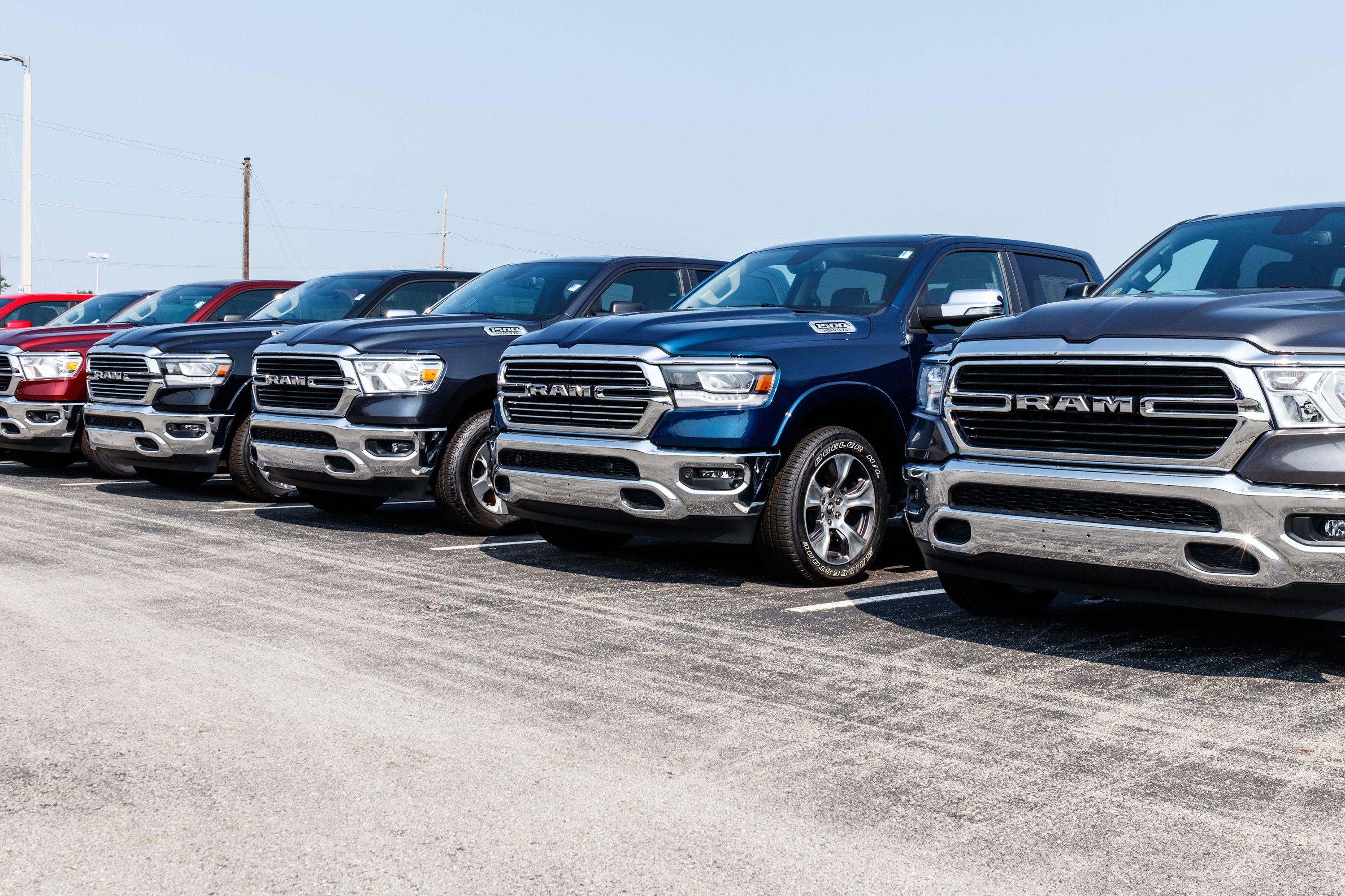 The Ram 1500 pickup is consistently among the better-selling trucks in the  U.S. The