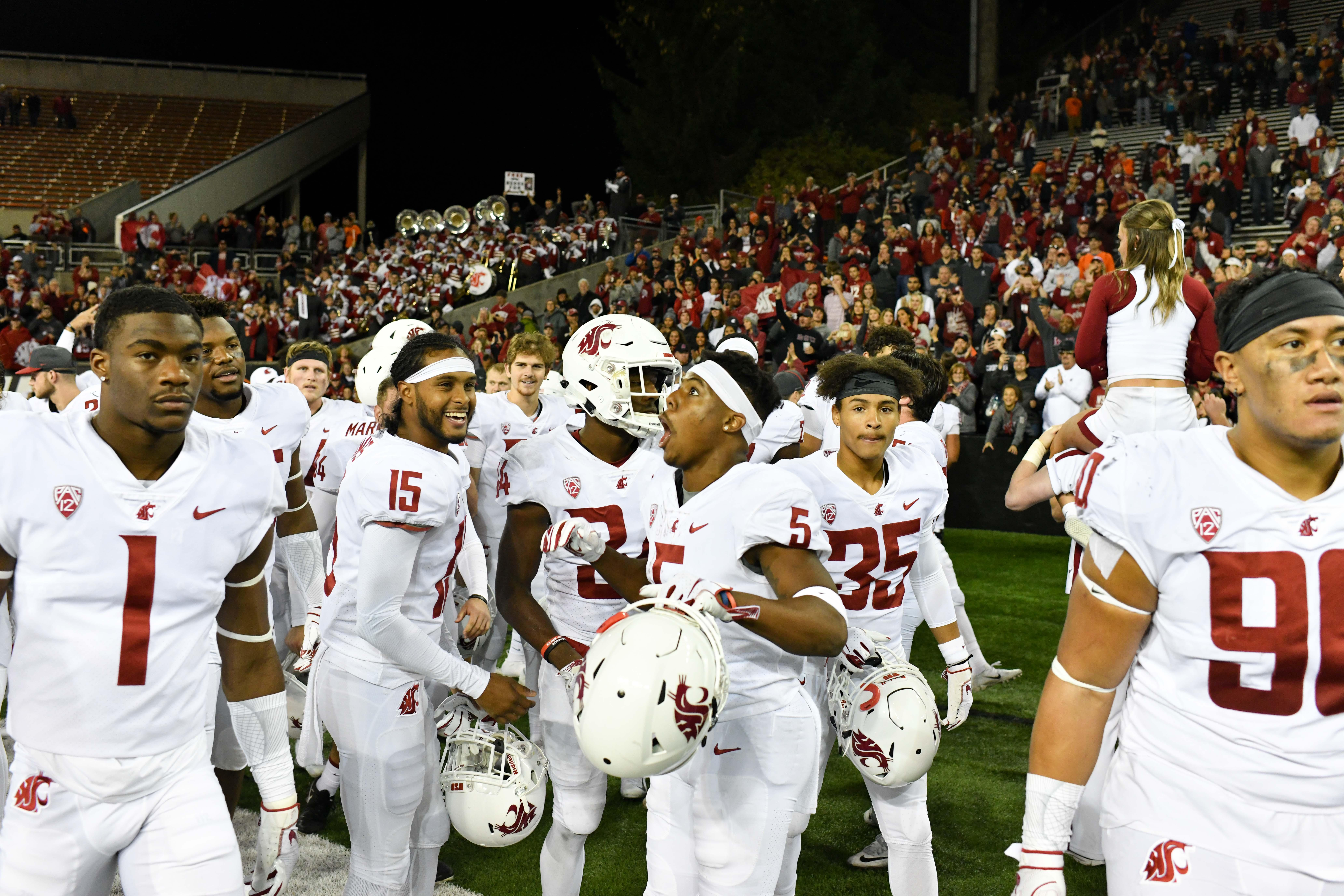 Back half of WSU schedule is loaded, but Cougars have