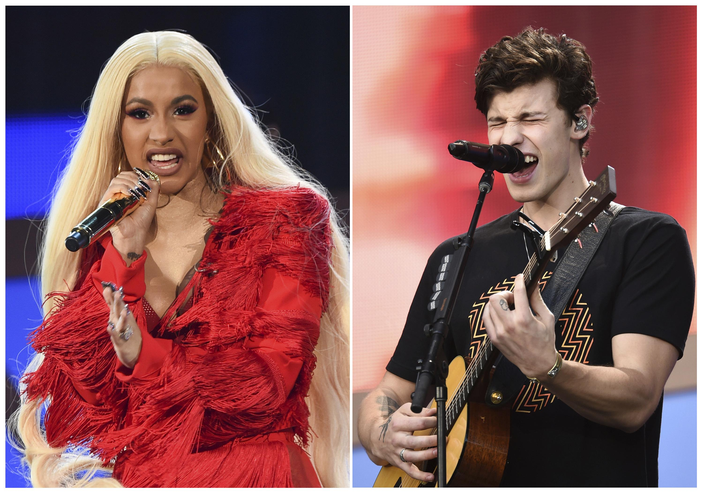 Cardi B Shawn Mendes To Perform On Jingle Ball Tour The Spokesman