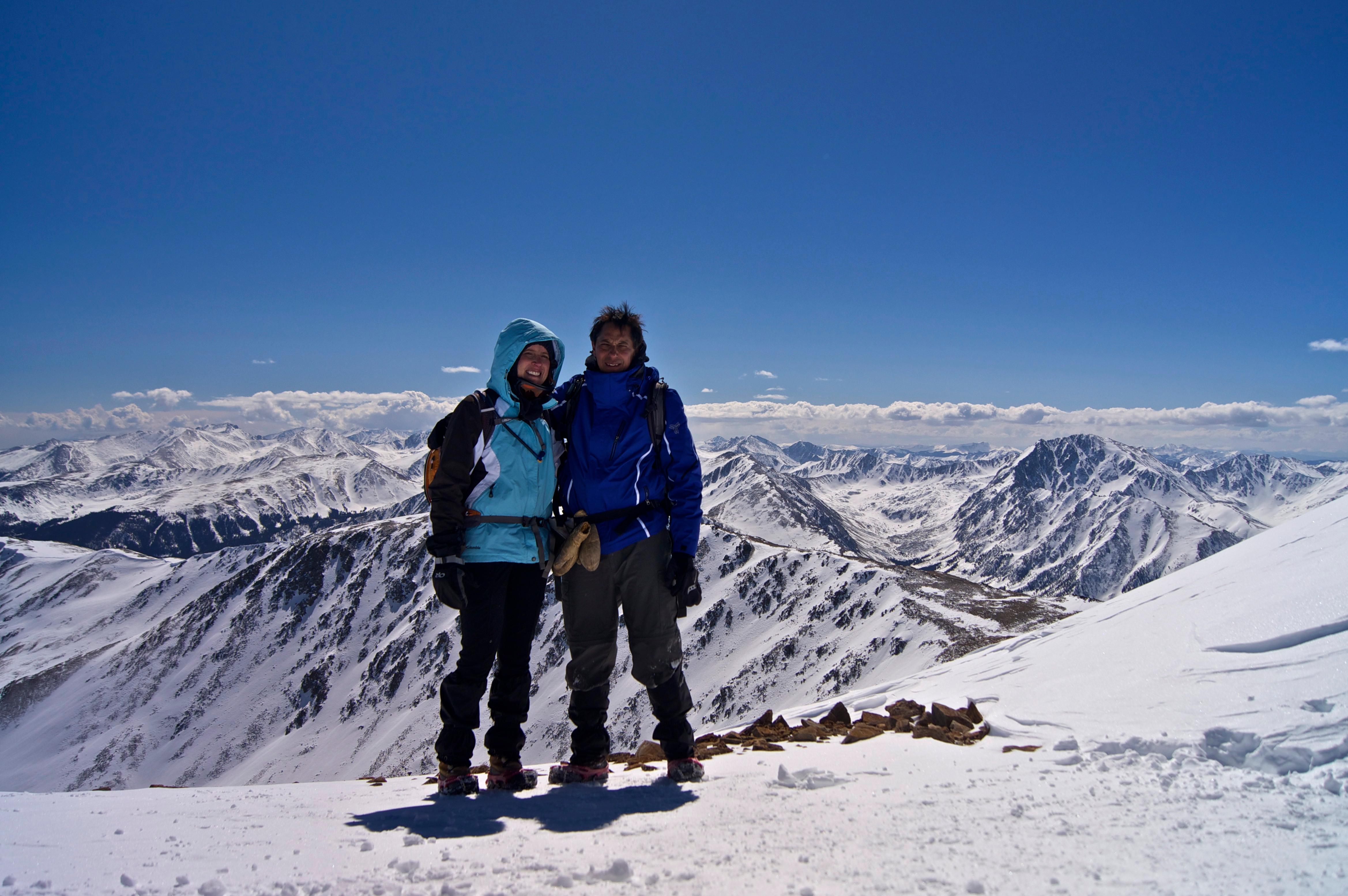 mountain climbing gives spokane couple unique form of marriage