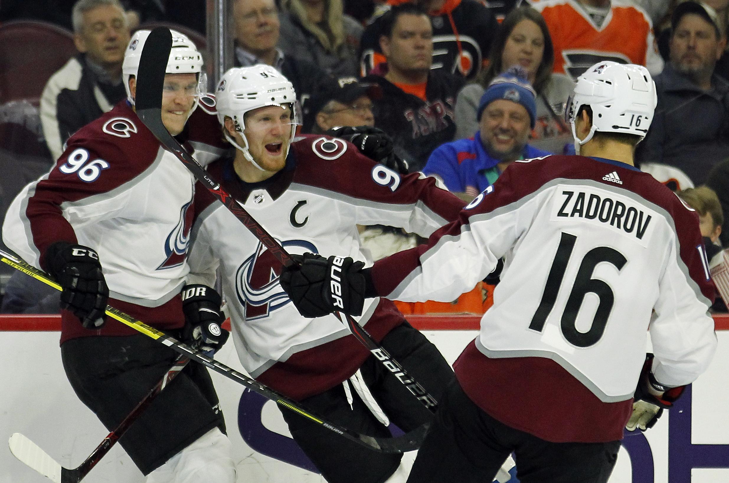 6ad721eb217 NHL capsules  Mikko Rantanen scored twice