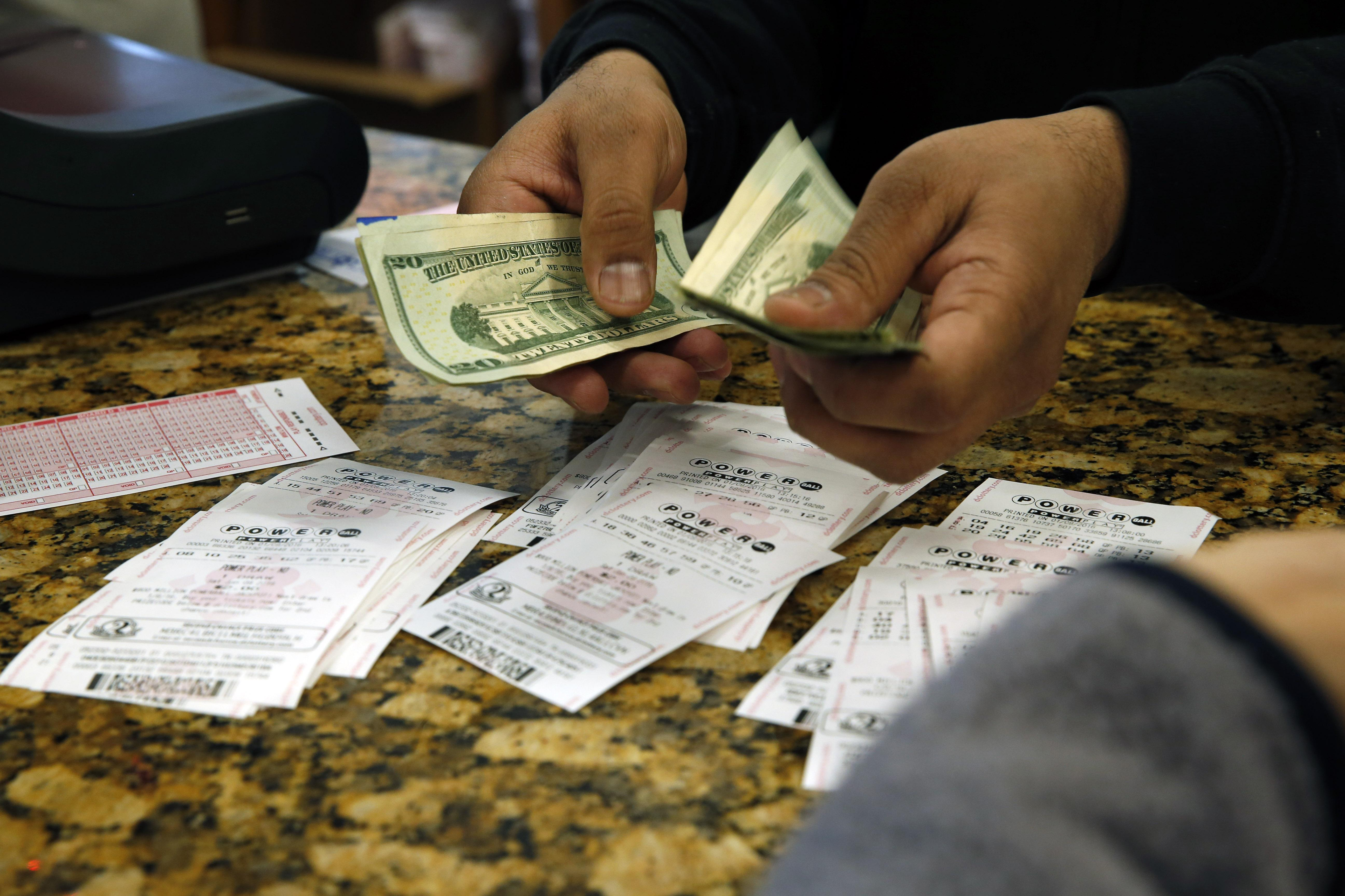 Unidentified person bought $1 million lottery ticket in