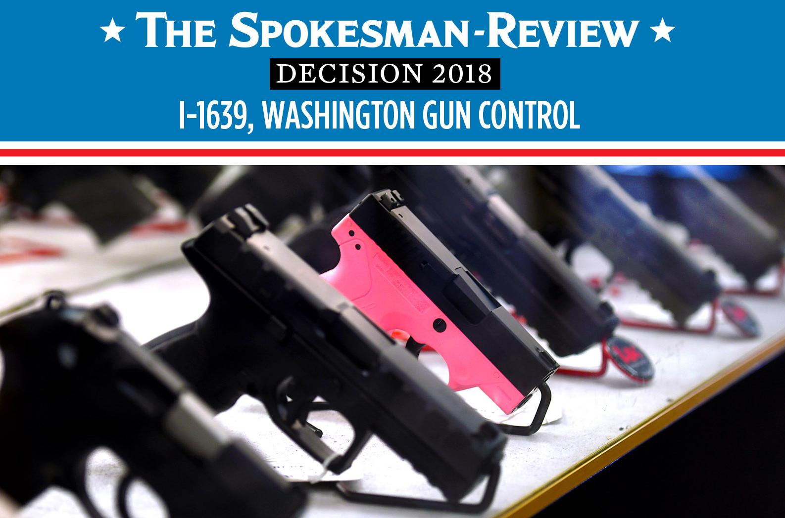 I-1639, which creates restrictions on semiautomatic rifles, passes