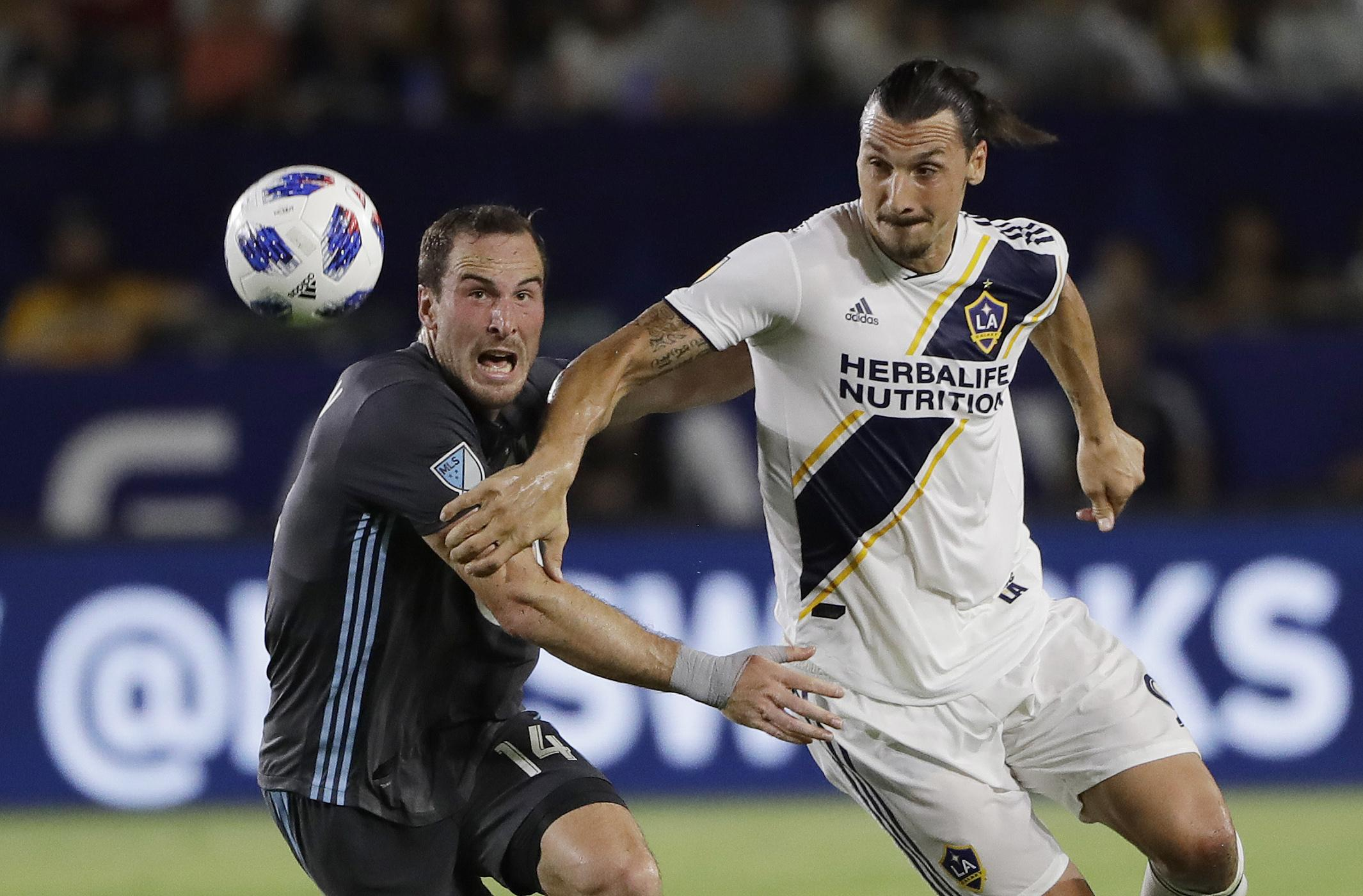 Image result for ibrahimovic la galaxy