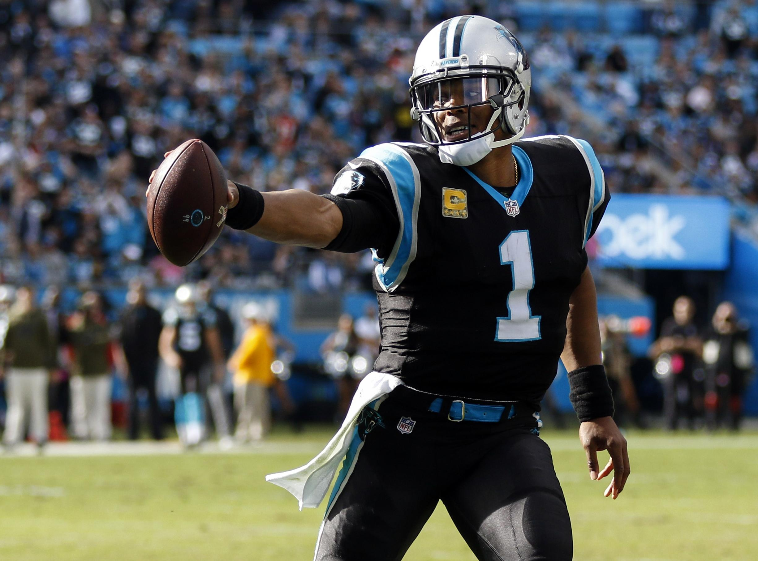 e82541d9d24 Surging Cam Newton, Carolina Panthers face red-hot Pittsburgh ...