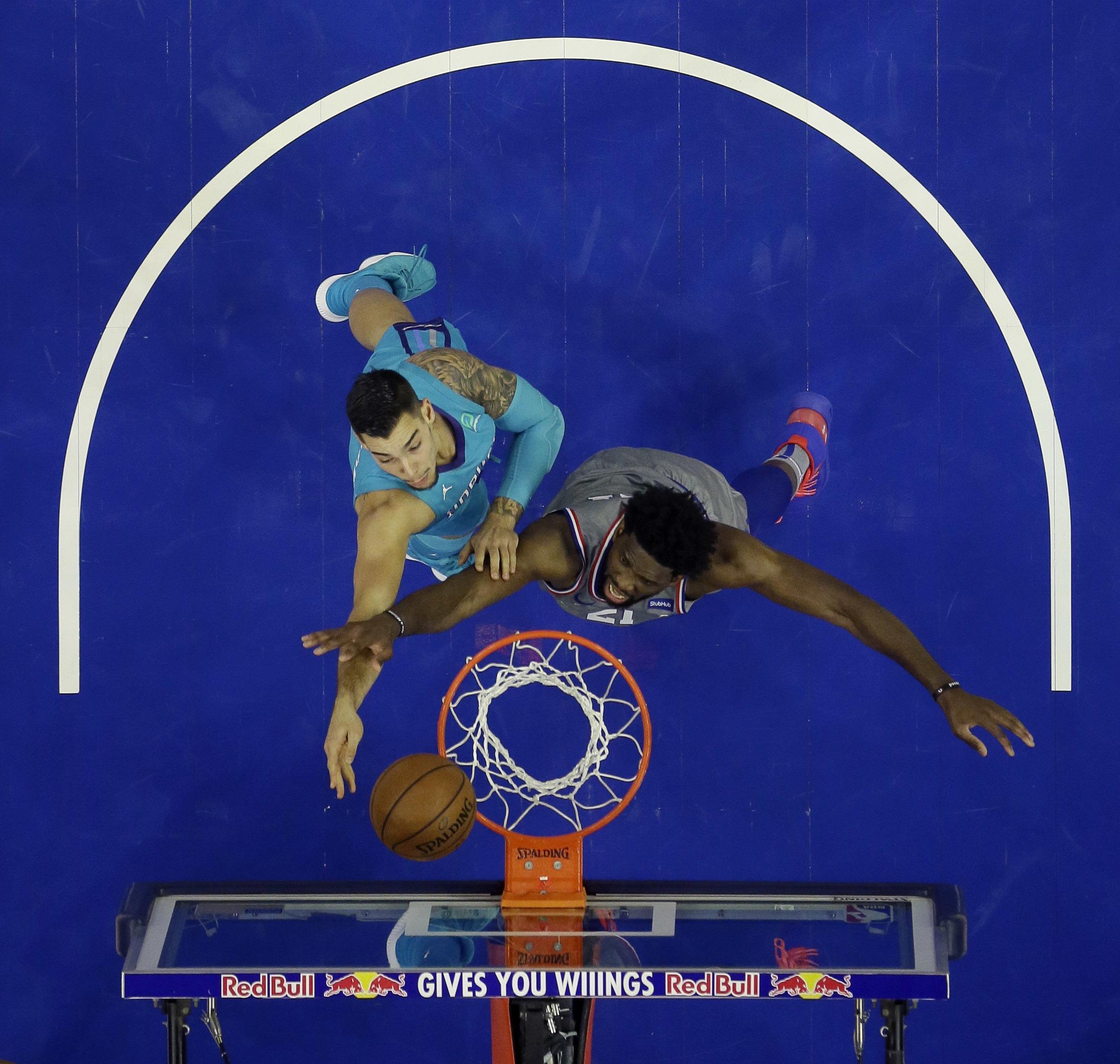 f6d5cbd1a32a NBA capsules  Joel Embiid has 42 points
