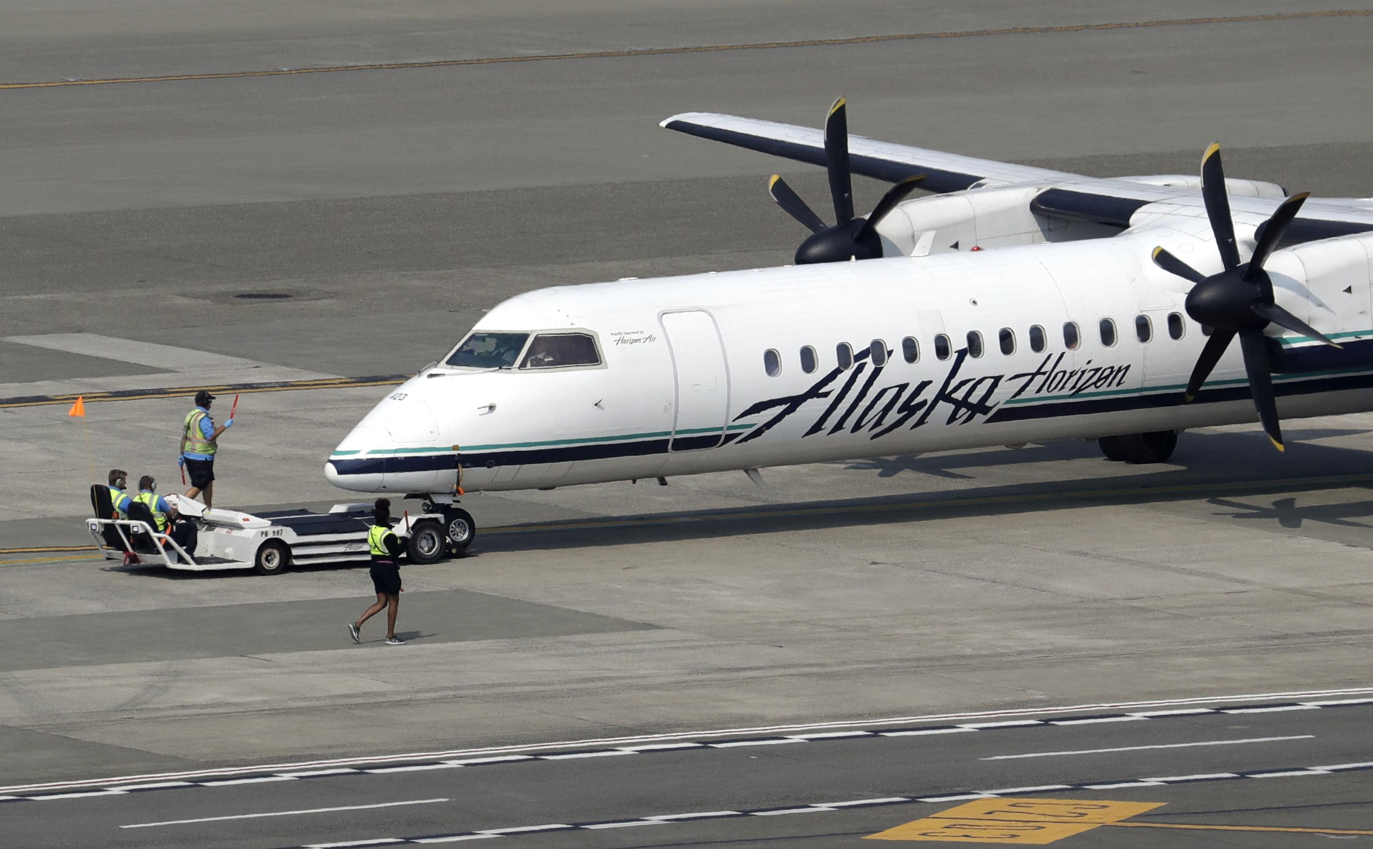 Alaska Airlines Flight To Seattle Returns To Portland