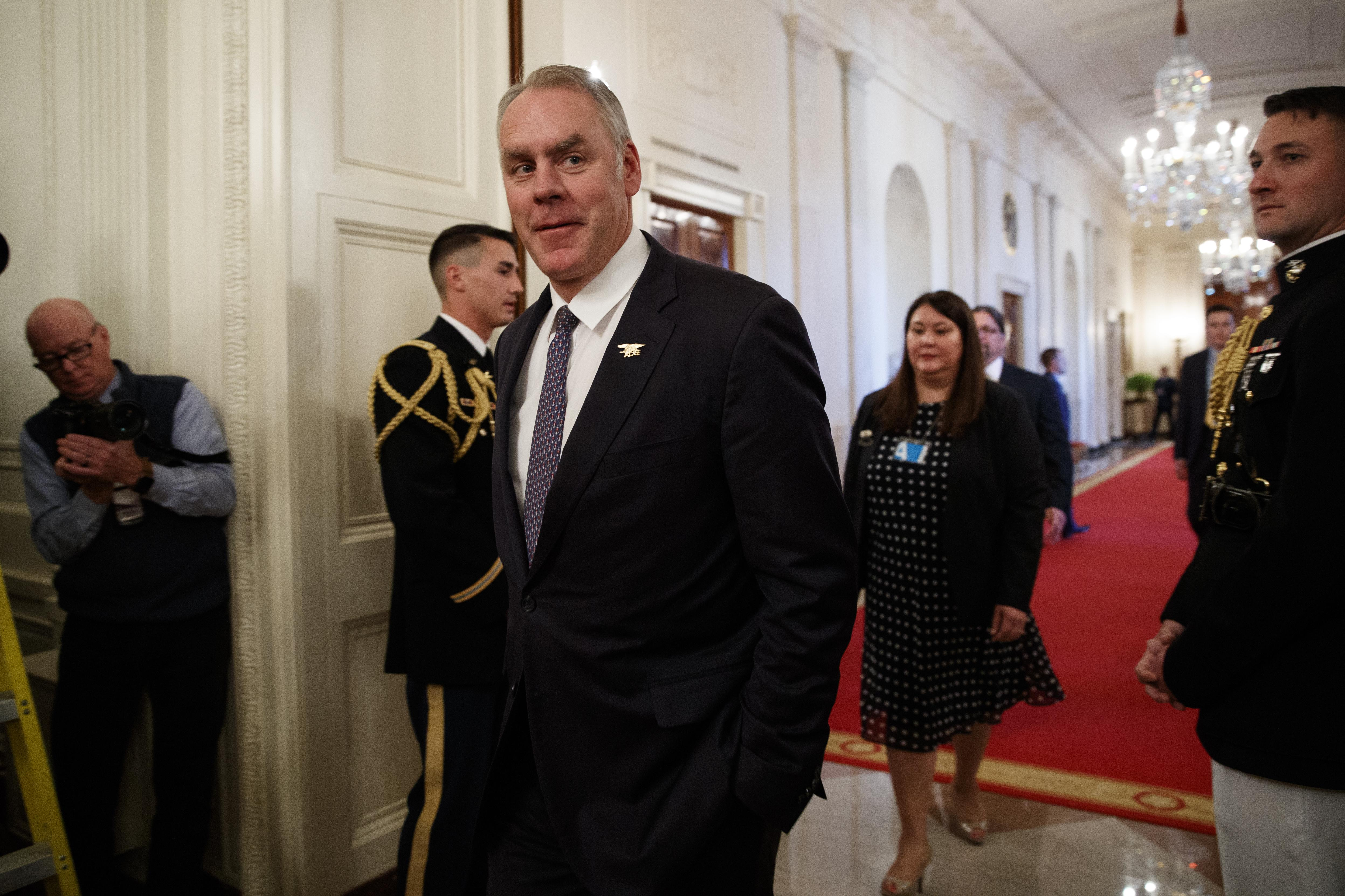 Zinke 100 Percent Confident He Ll Be Cleared In Probes The Spokesman Review