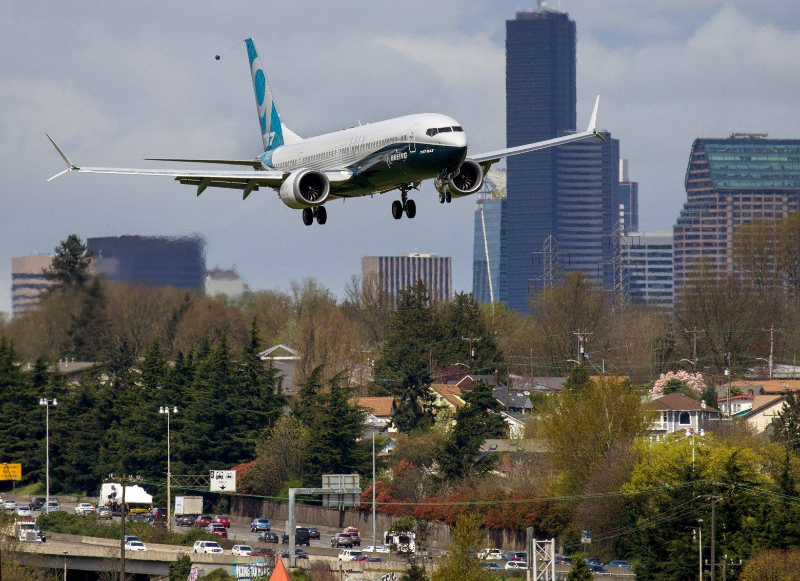 FAA evaluates a potential design flaw on Boeing's 737 MAX