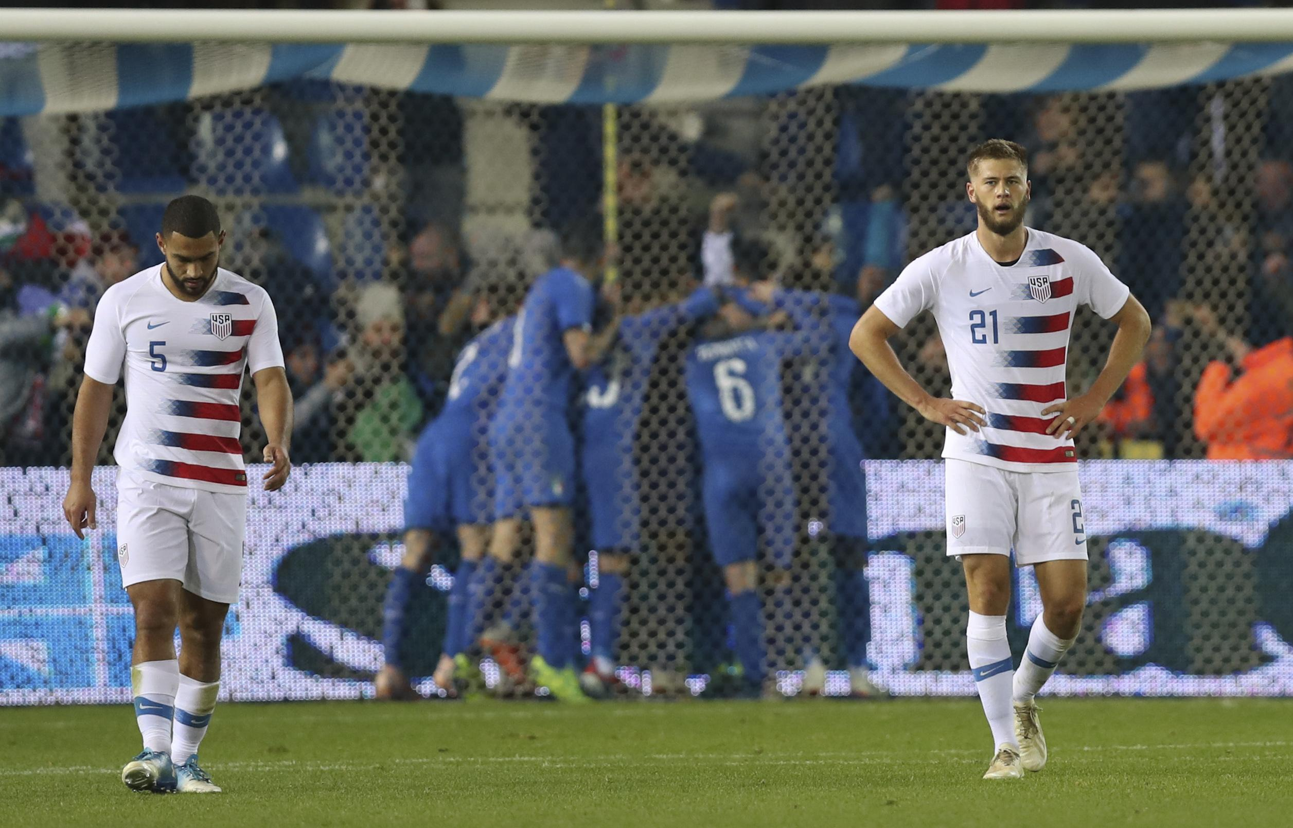 19d3c0fe9 Christian Pulisic captains U.S. in 1-0 loss to Italy