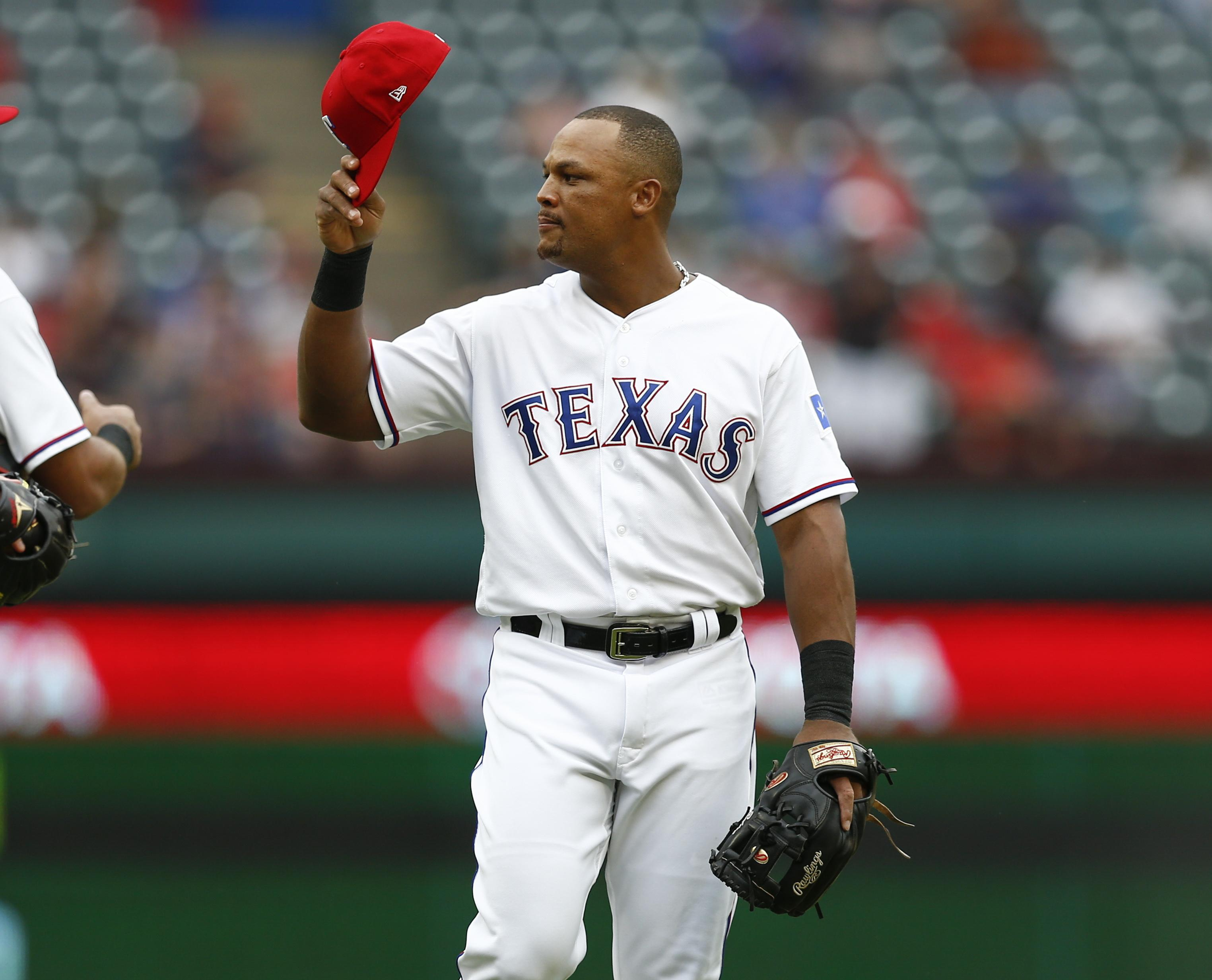 Texas Rangers third baseman Adrian Beltre announced his retirement Tuesday  after 21 seasons. (Jim cc9fdbd5f1