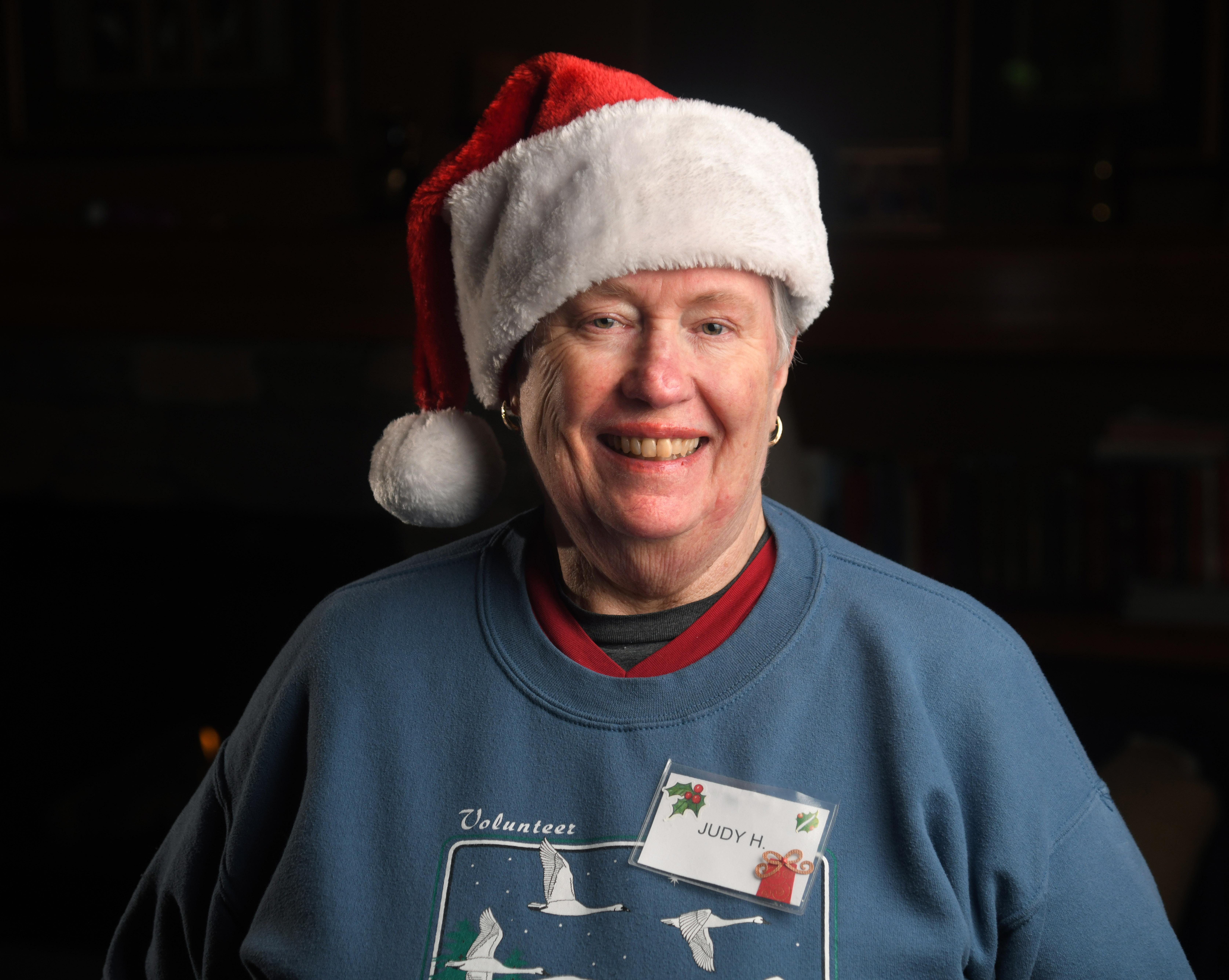 Longtime christmas bureau volunteer specializes in giving lunch