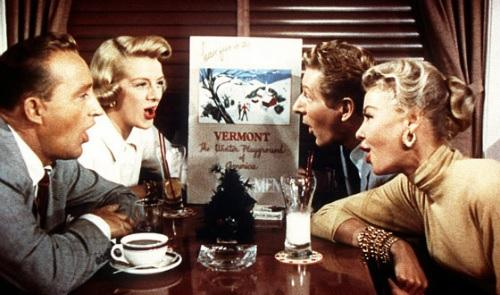 "A still from ""White Christmas."""