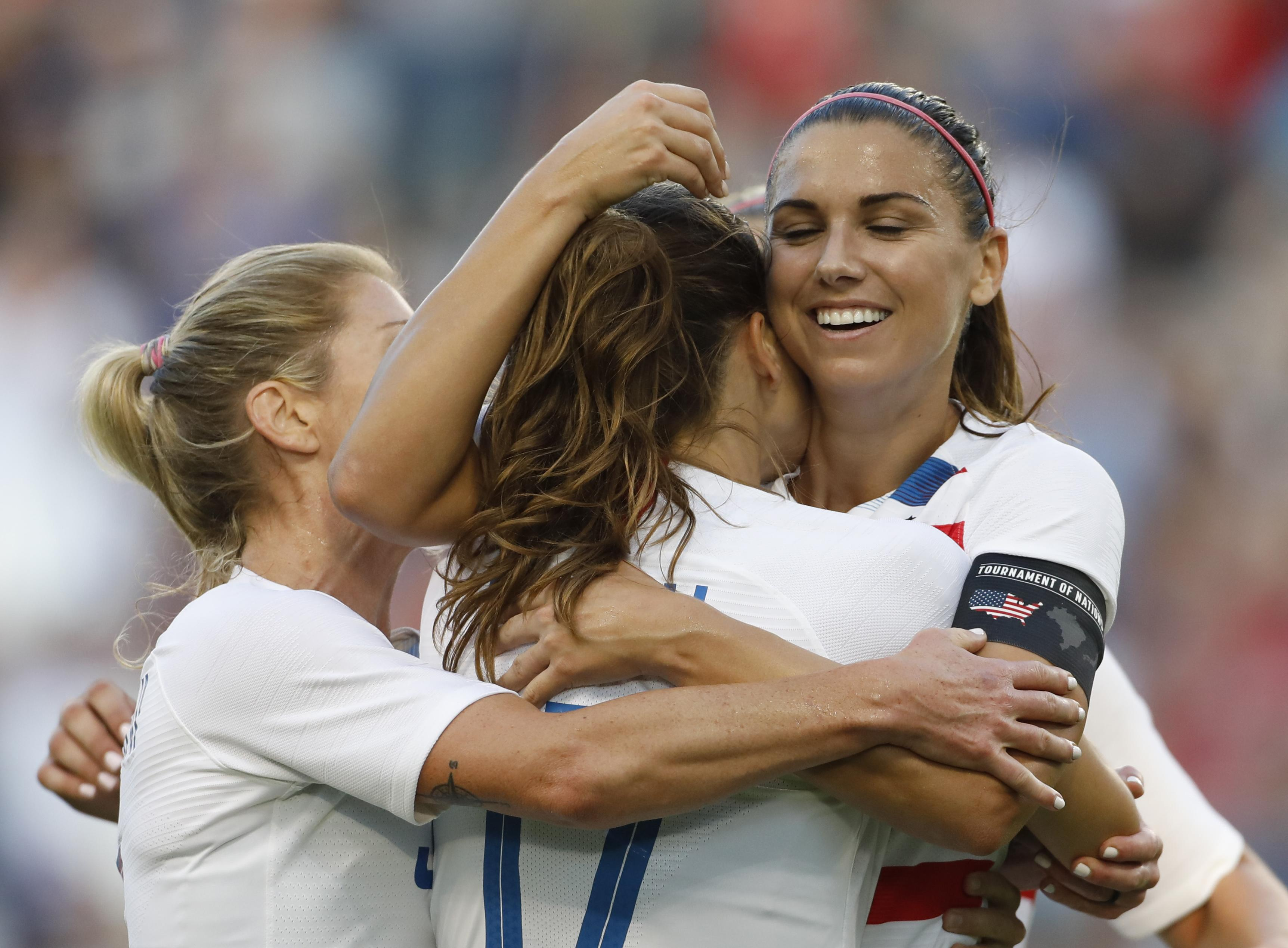 2710f8f16 Alex Morgan named U.S. Player of the Year