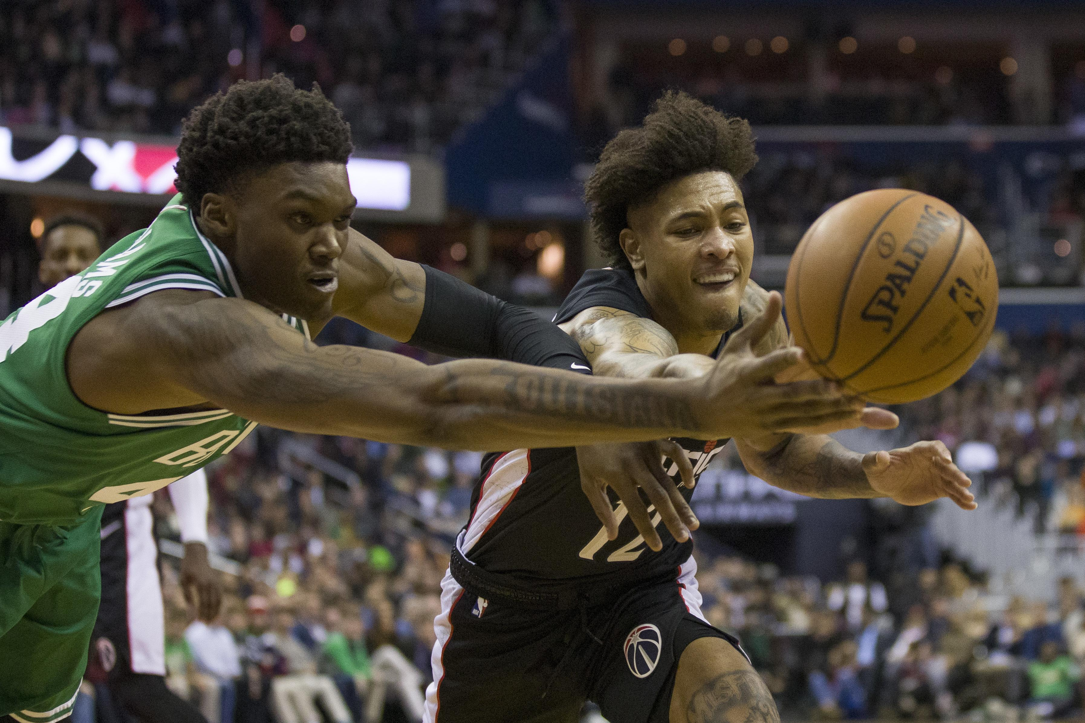 d3cb8b61c46 NBA capsules  Kyrie Irving helps Celtics past Wizards 130-125 in ...